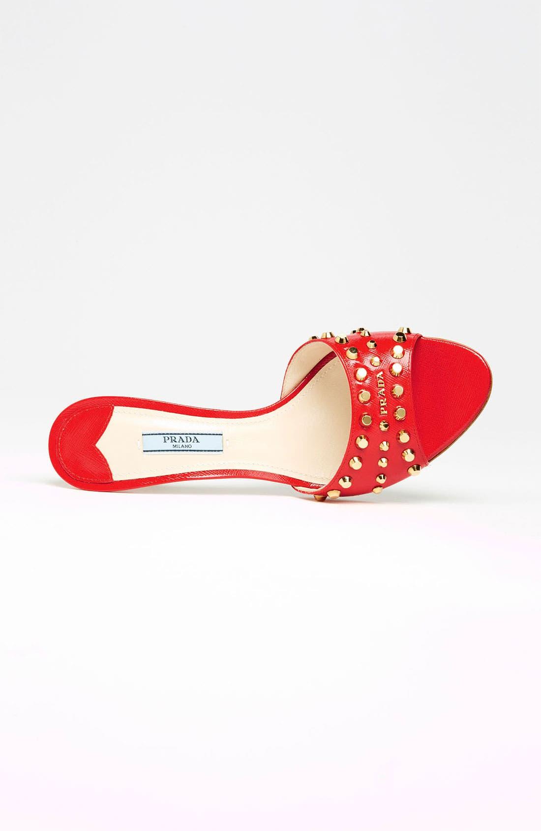 Alternate Image 4  - Prada Studded Slide Sandal