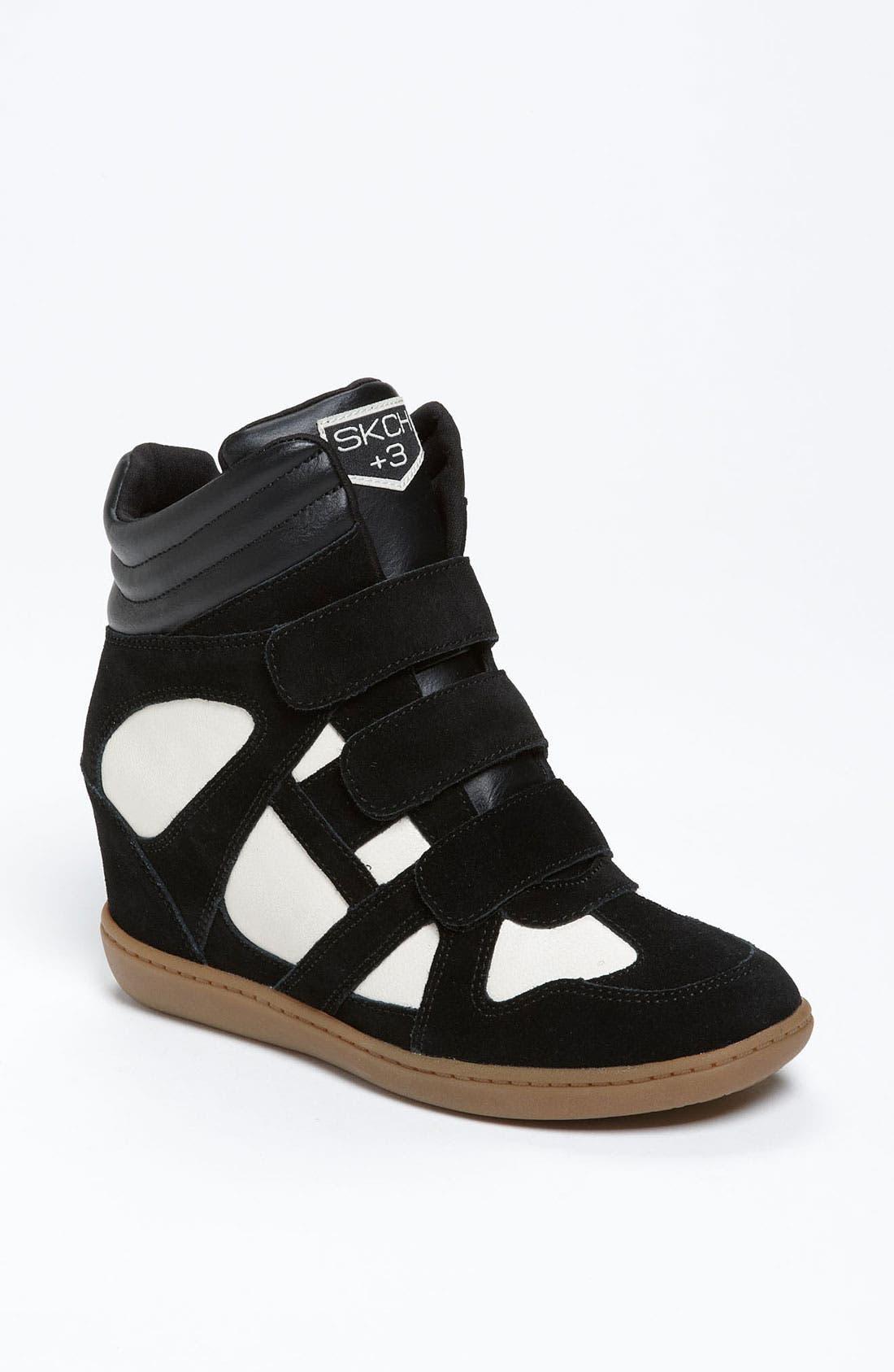 Alternate Image 1 Selected - SKECHERS 'Raise Your Glass' Wedge Sneaker (Women)