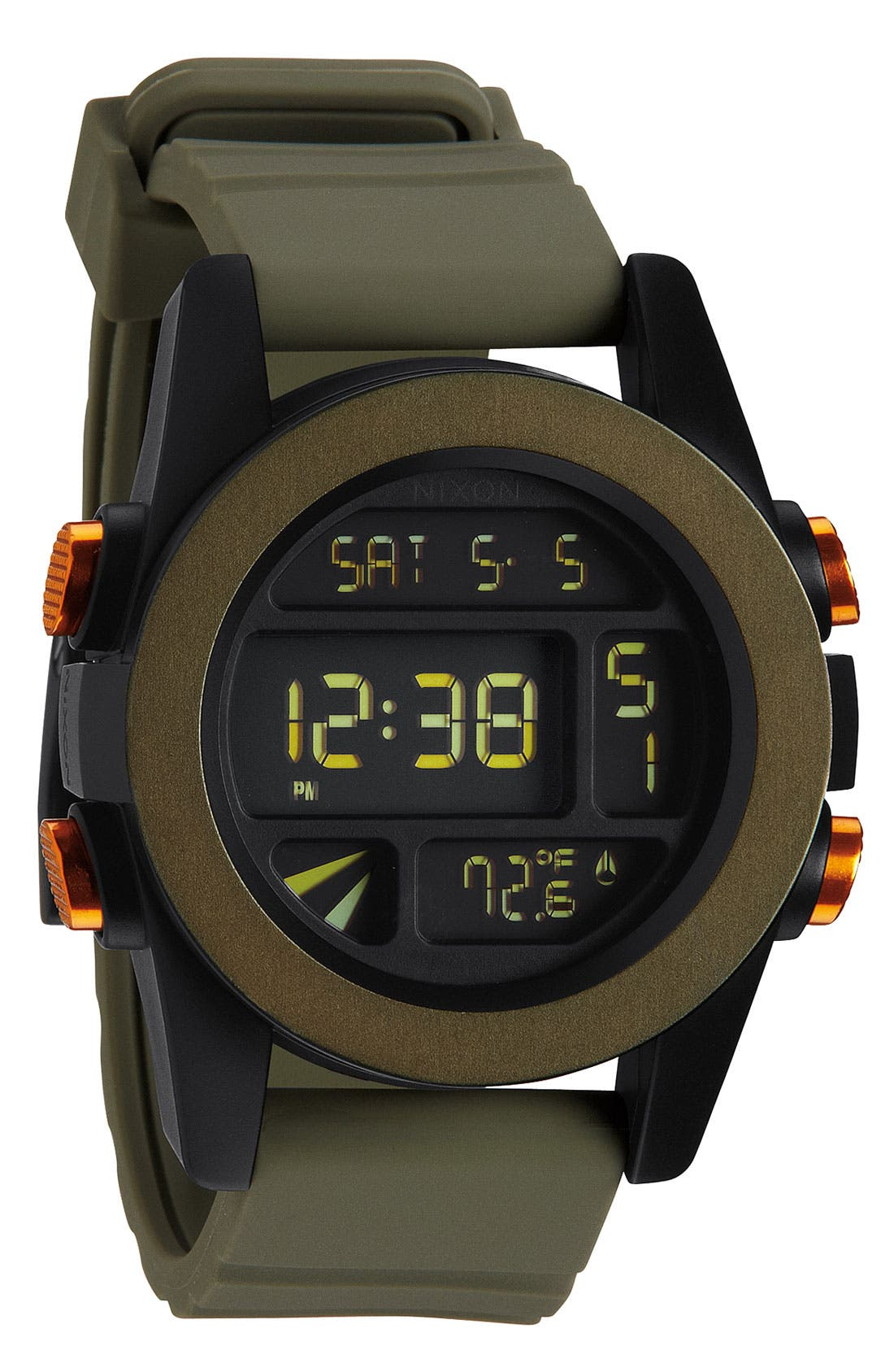 Alternate Image 1 Selected - Nixon 'The Anodaze Unit' Digital Watch, 49mm