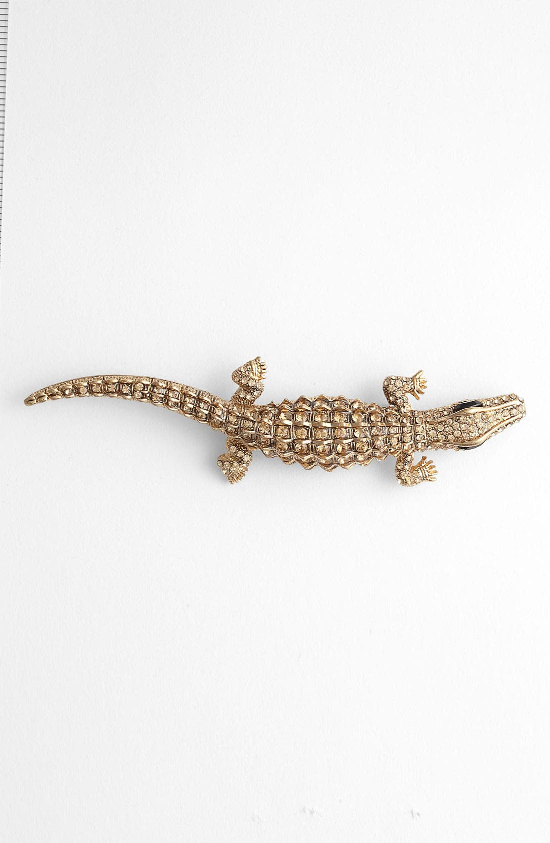 Main Image - Tasha 'Critters' Alligator Brooch