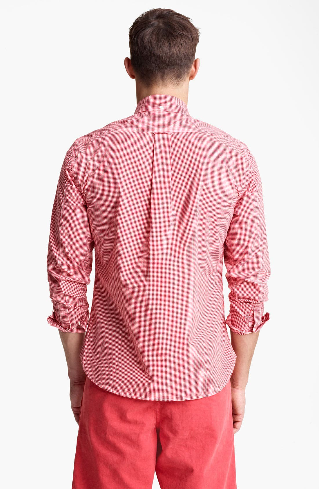 Alternate Image 2  - Todd Snyder Micro Gingham Shirt