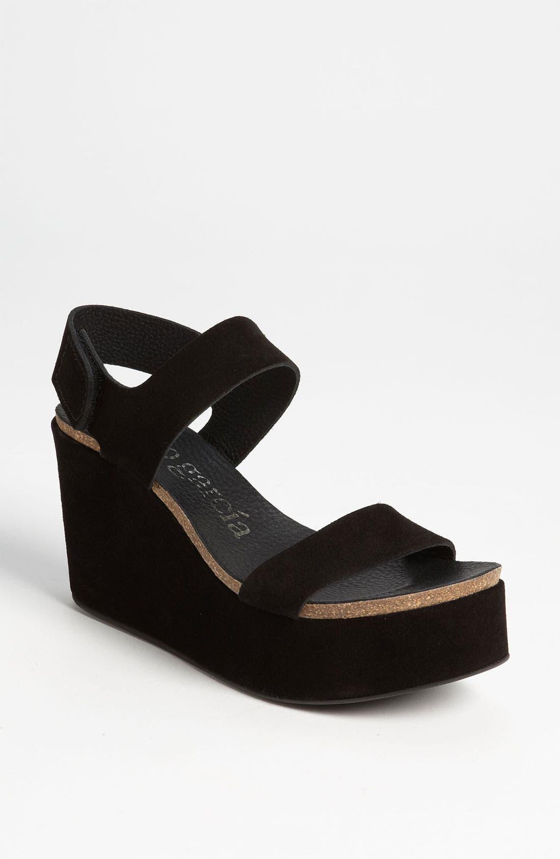 Alternate Image 1 Selected - Pedro Garcia 'Dakota' Wedge Sandal