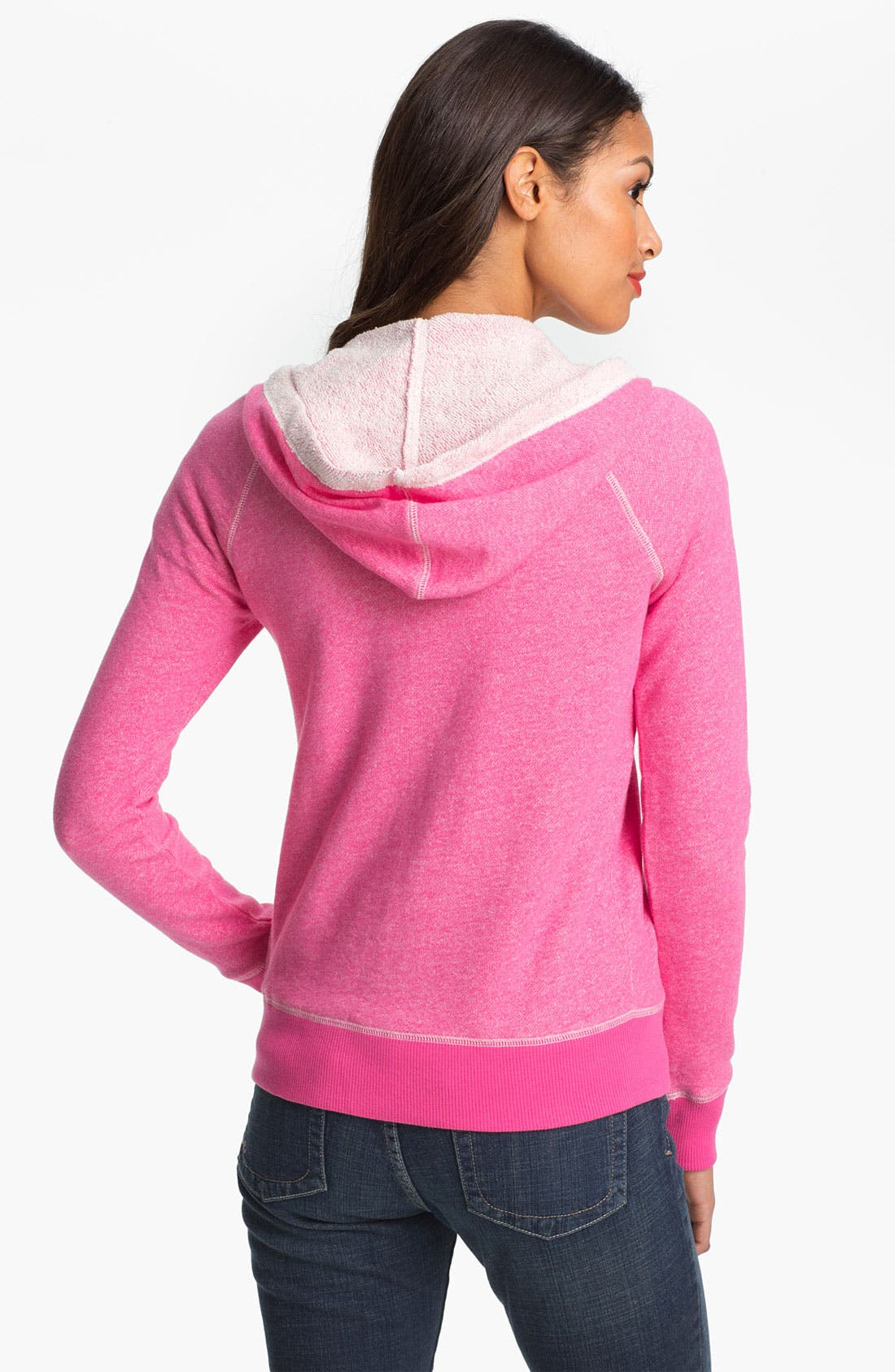 Alternate Image 2  - Caslon® Cotton French Terry Hoodie
