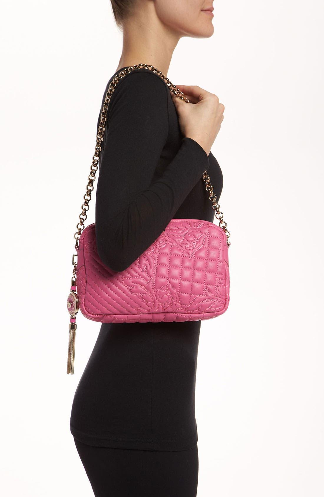 Alternate Image 2  - Versace 'Vanitas' Embroidered Leather Shoulder Bag