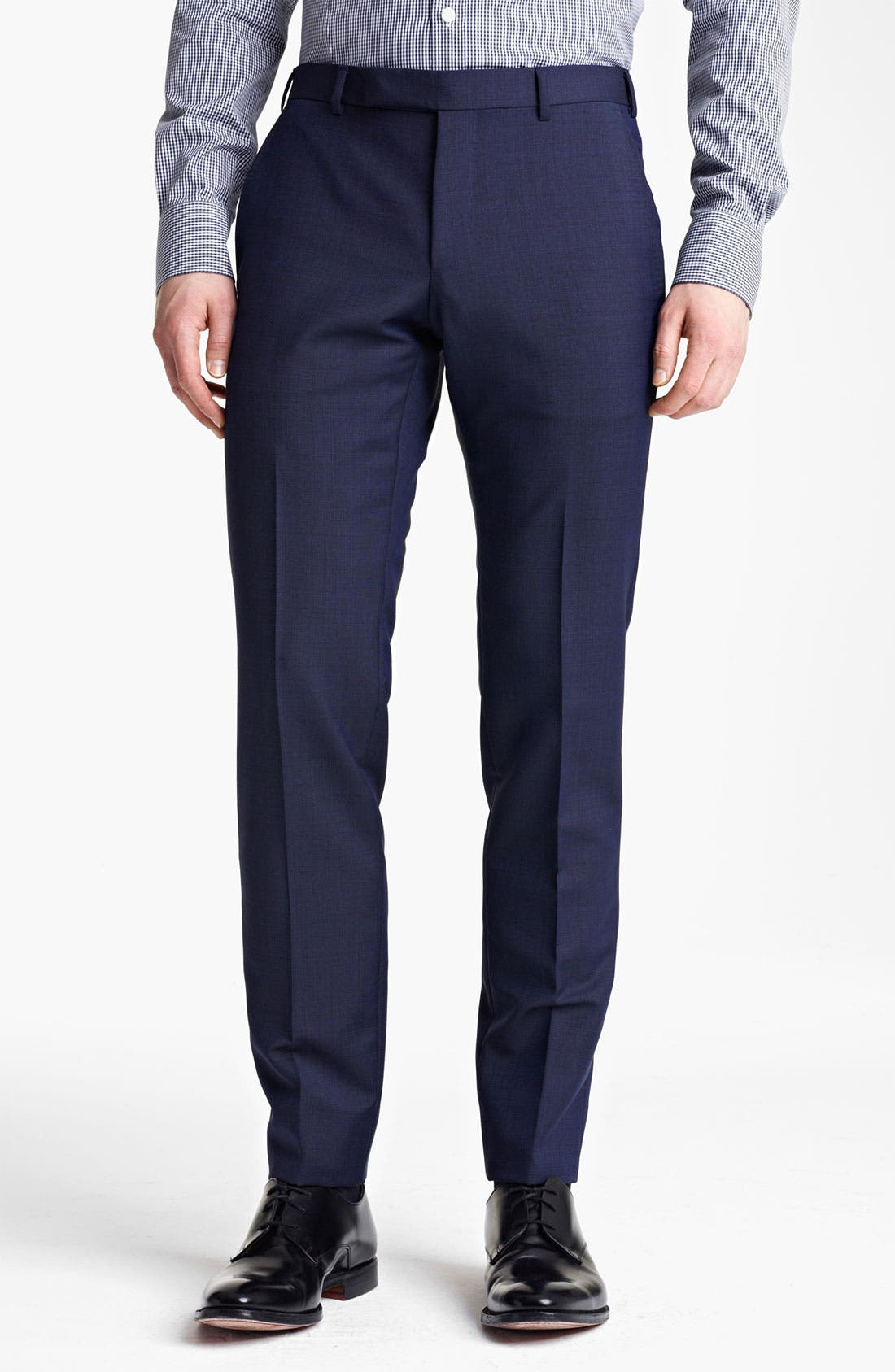Alternate Image 5  - Z Zegna Trim Fit Wool Blend Suit