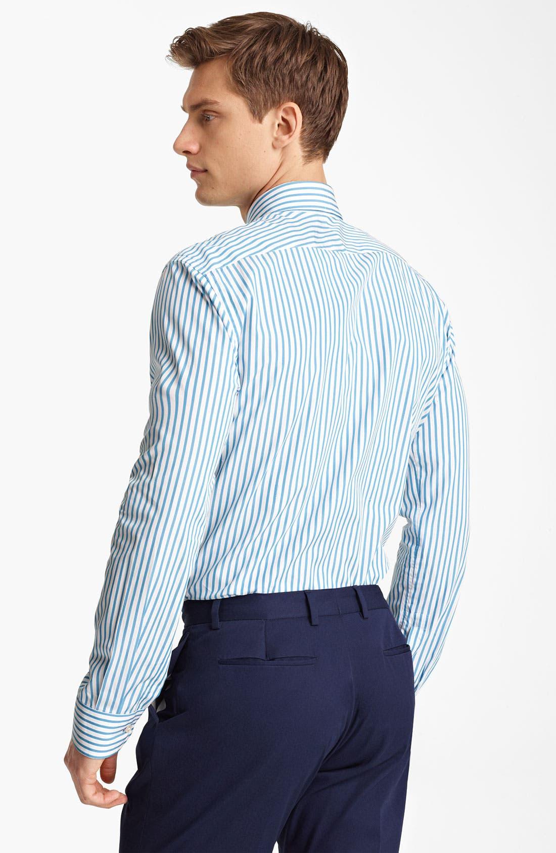 Alternate Image 2  - Paul Smith London Candy Stripe Shirt