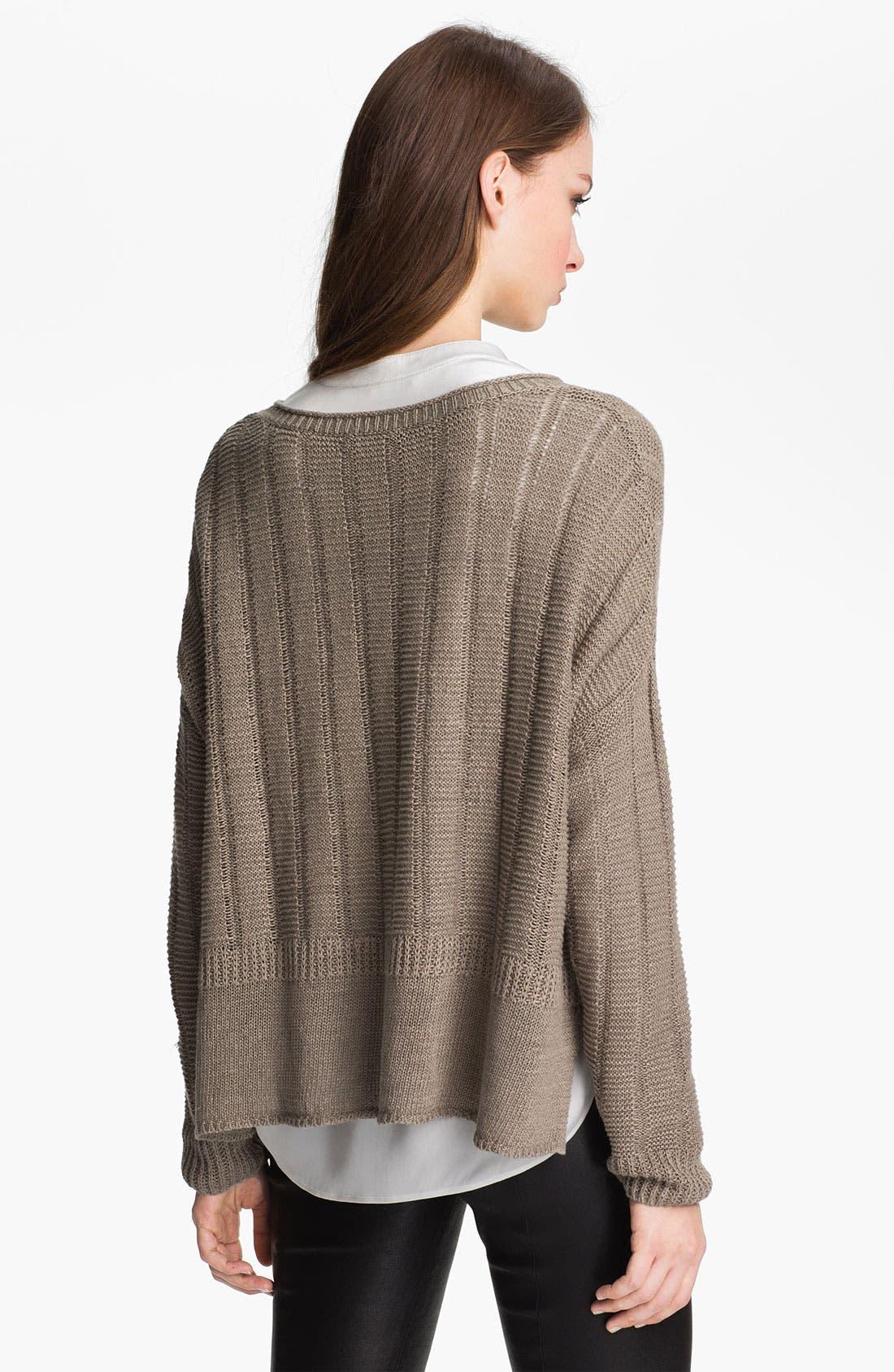 Alternate Image 2  - Vince Linen Sweater