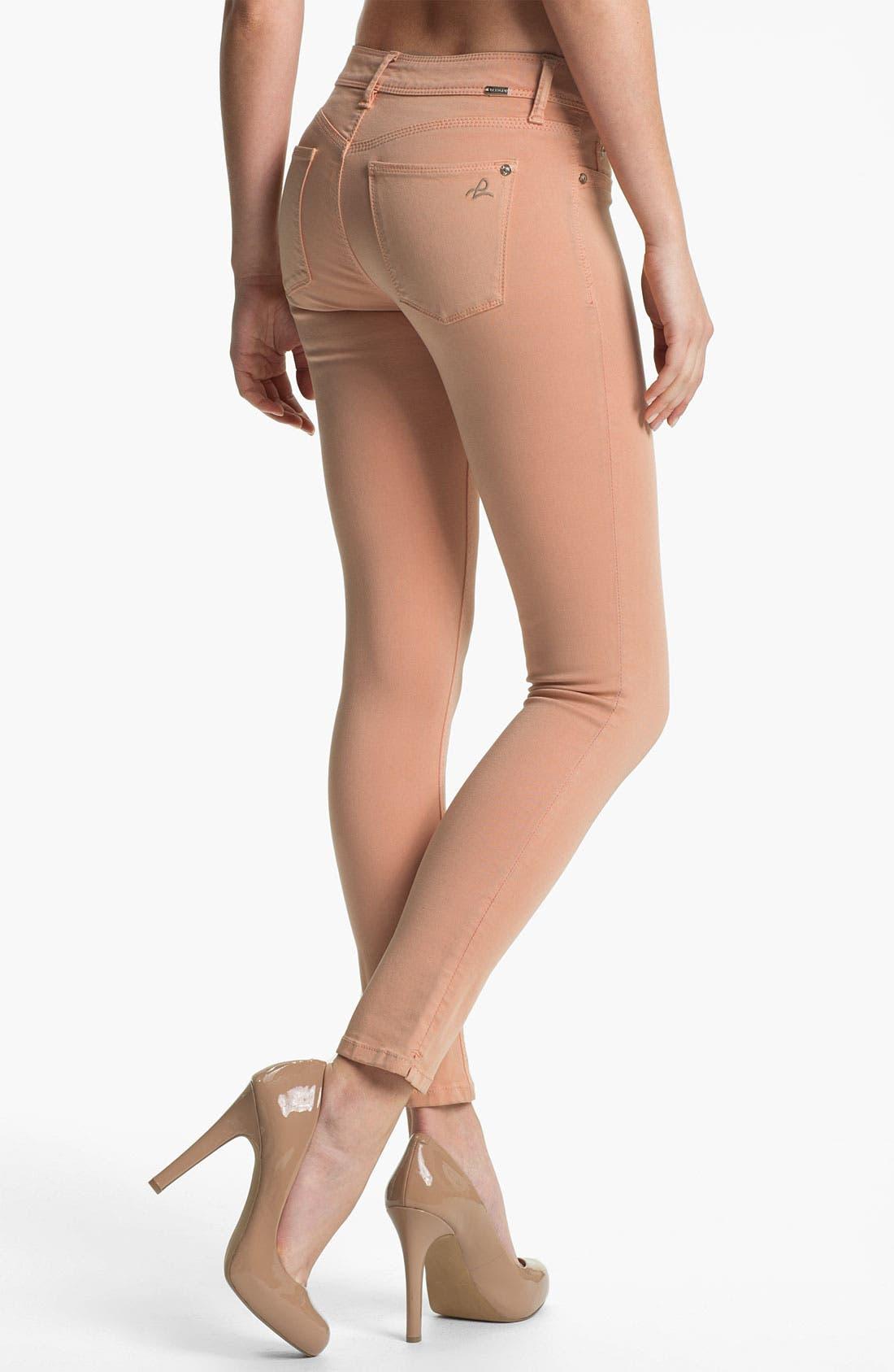 Alternate Image 2  - DL1961 'Angel' X-Fit Stretch Denim Skinny Ankle Jeans (Nice)