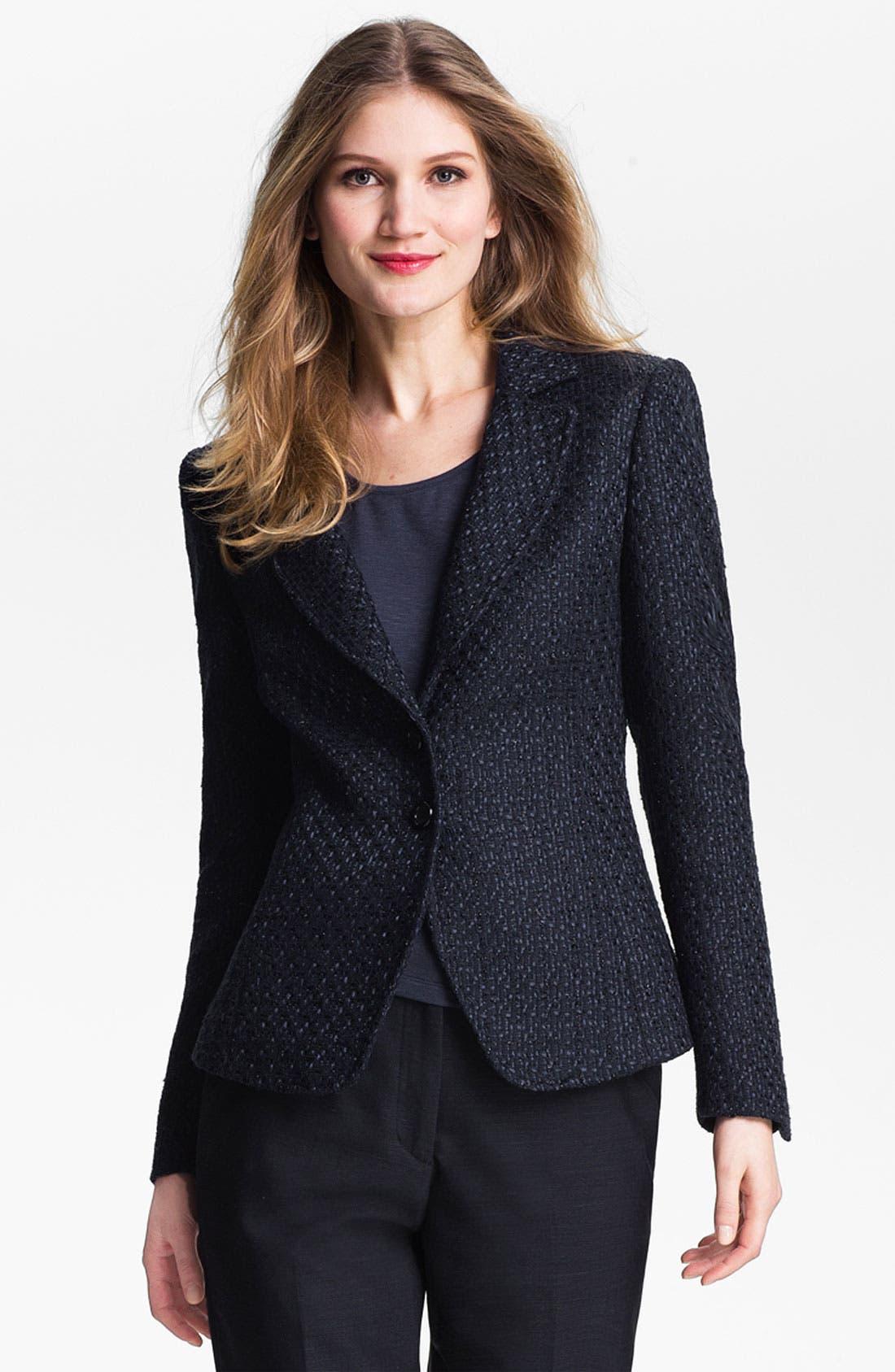 Alternate Image 1 Selected - Santorelli 'Kristina 2' Tweed Jacket