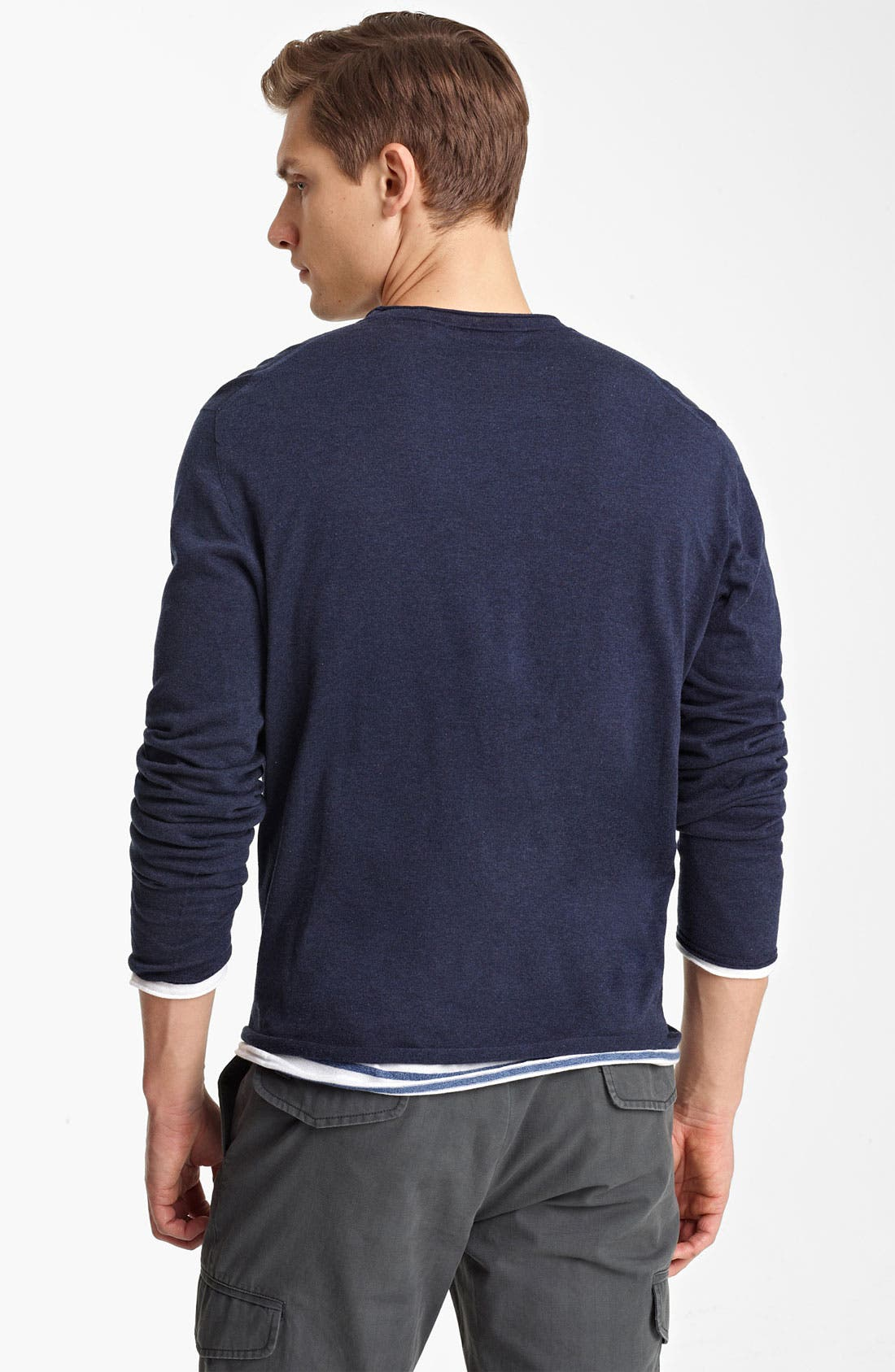 Alternate Image 2  - Zegna Sport Double Layer Crewneck T-Shirt