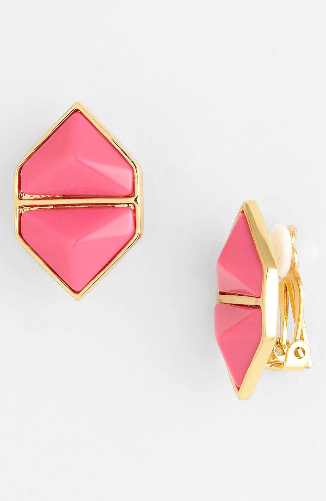 Main Image - Vince Camuto 'Hidden Gems' Clip Stud Earrings