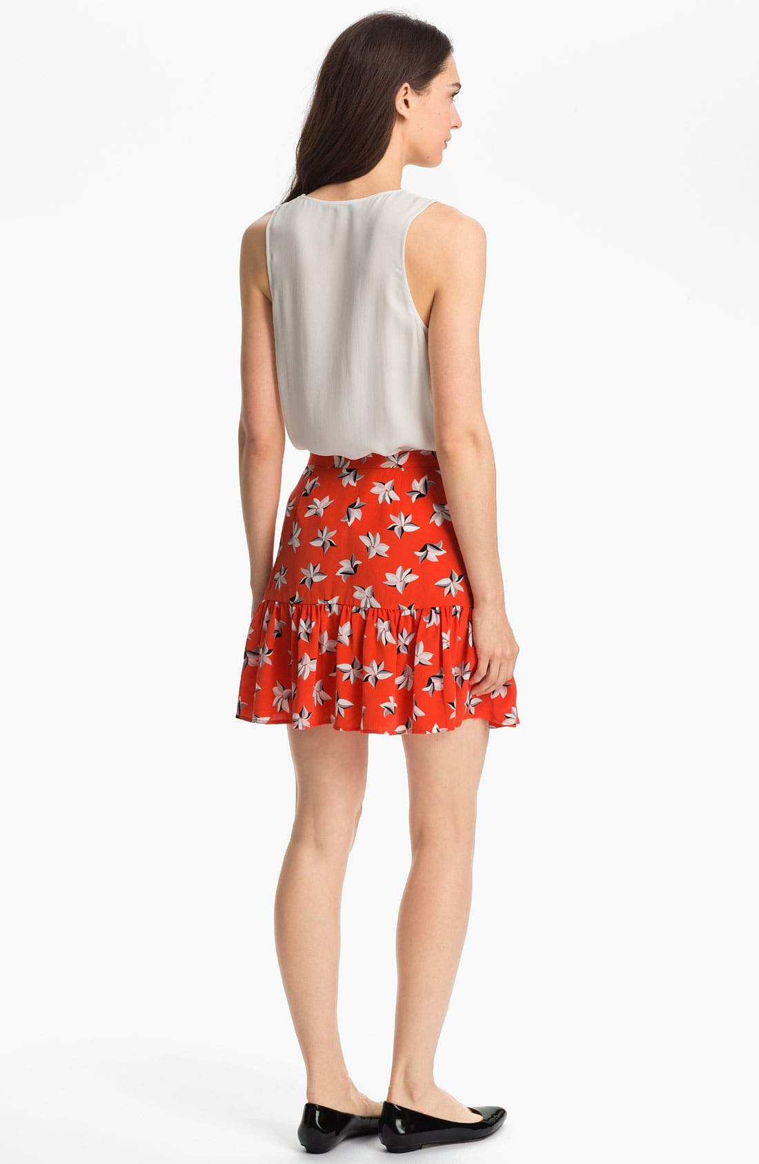 Alternate Image 5  - Joie 'Sisily' Silk Skirt