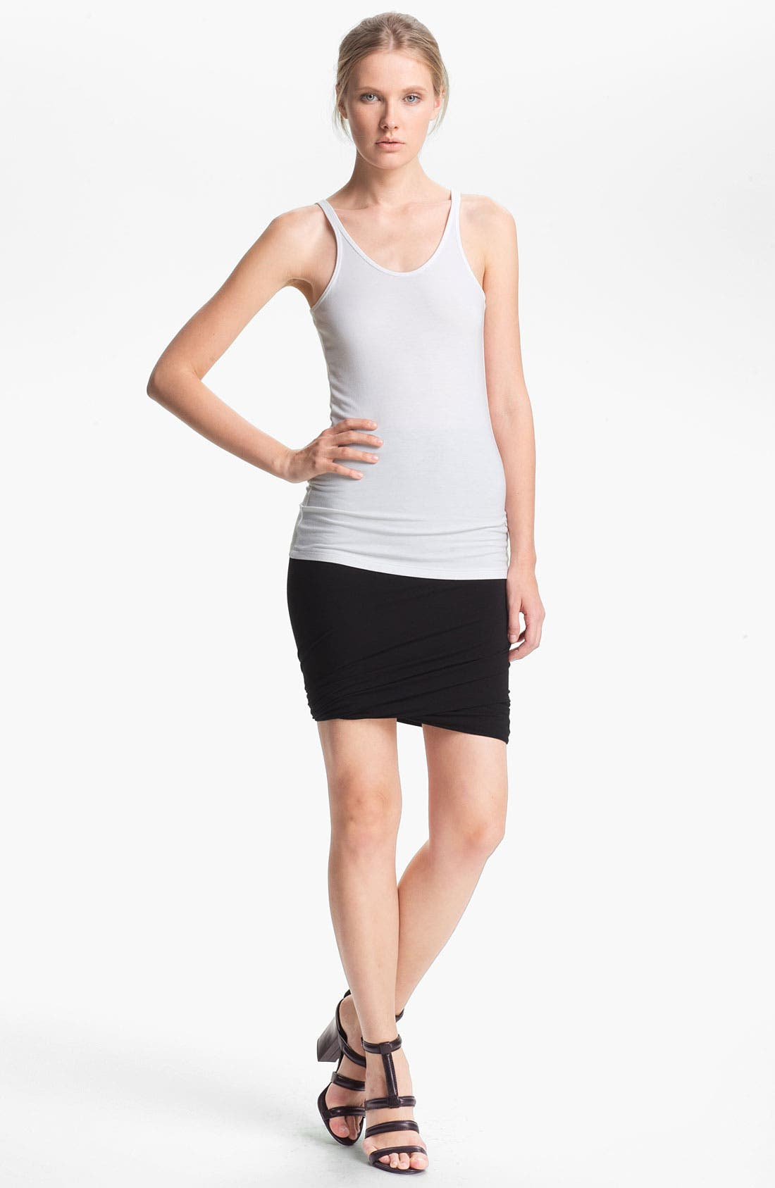 Alternate Image 1 Selected - T by Alexander Wang Stretch Knit Tank