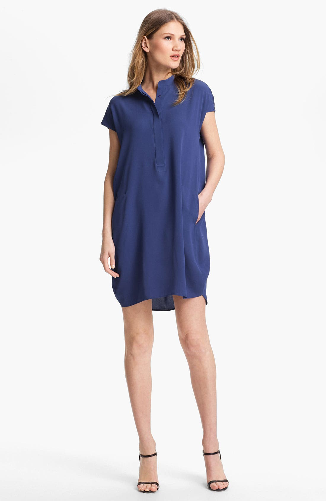 Alternate Image 1 Selected - Vince Silk Tunic Dress
