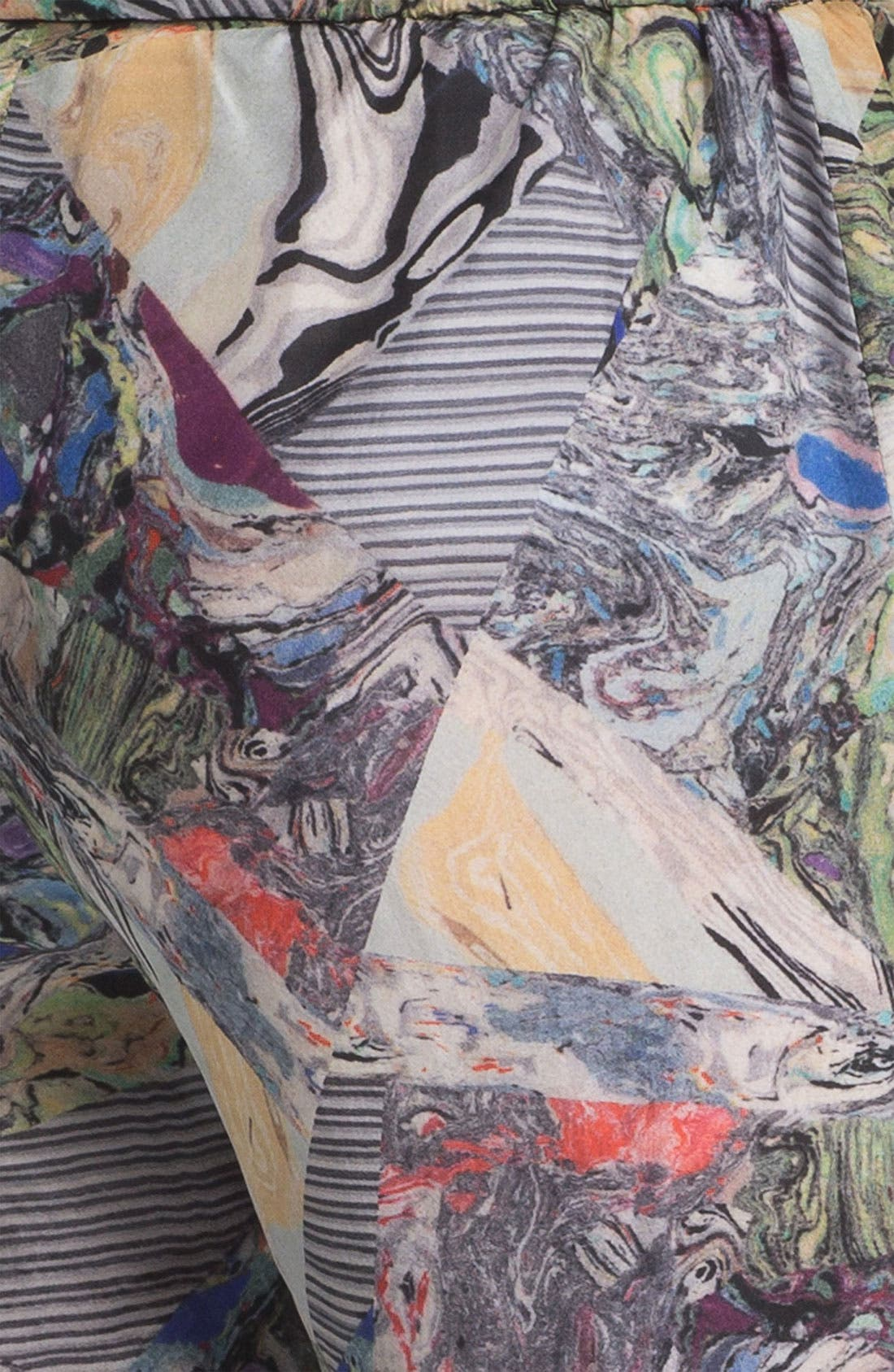 Alternate Image 4  - Kelly Wearstler 'Array' Print Silk Pants