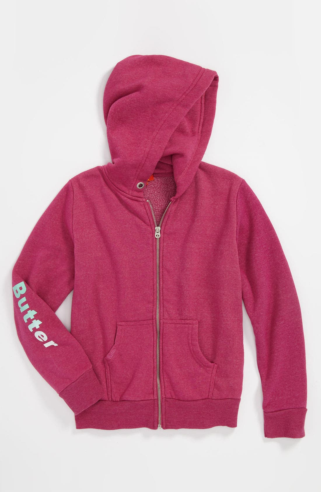 Alternate Image 1 Selected - Butter Supersoft 'Hard Candy' Hoodie (Big Girls)