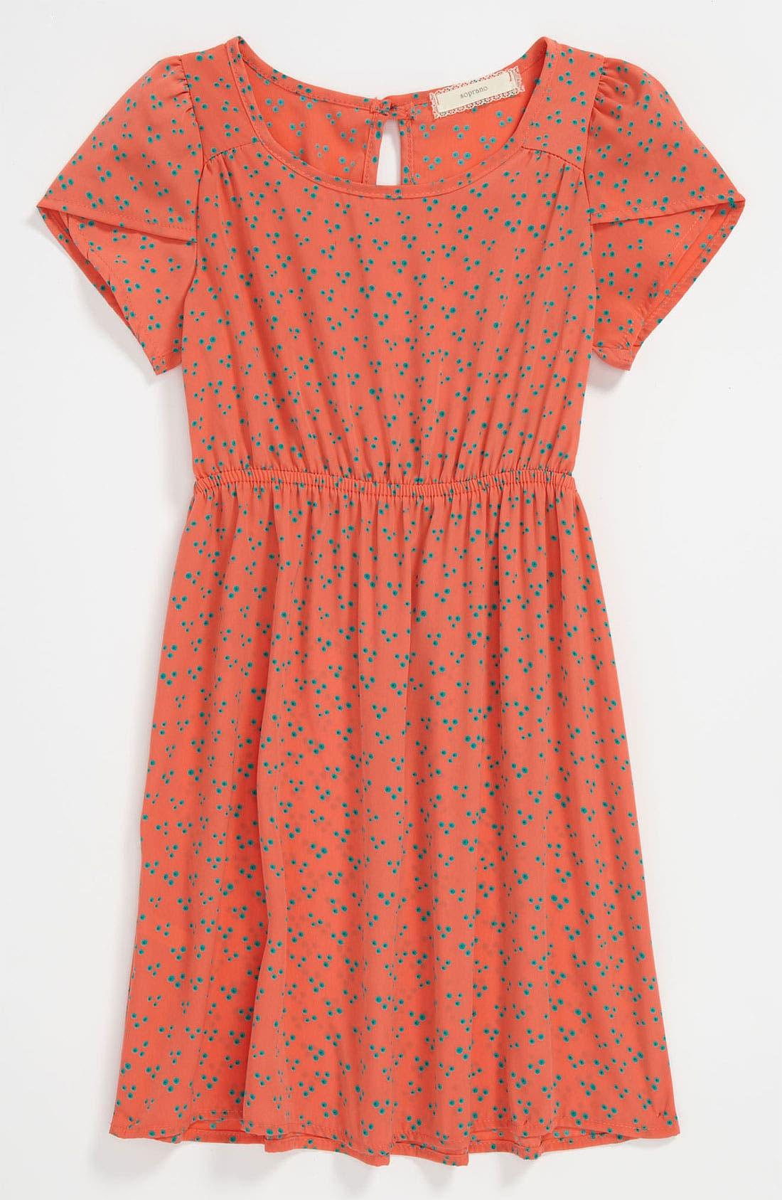 Alternate Image 1 Selected - Soprano Print Dress (Little Girls & Big Girls)