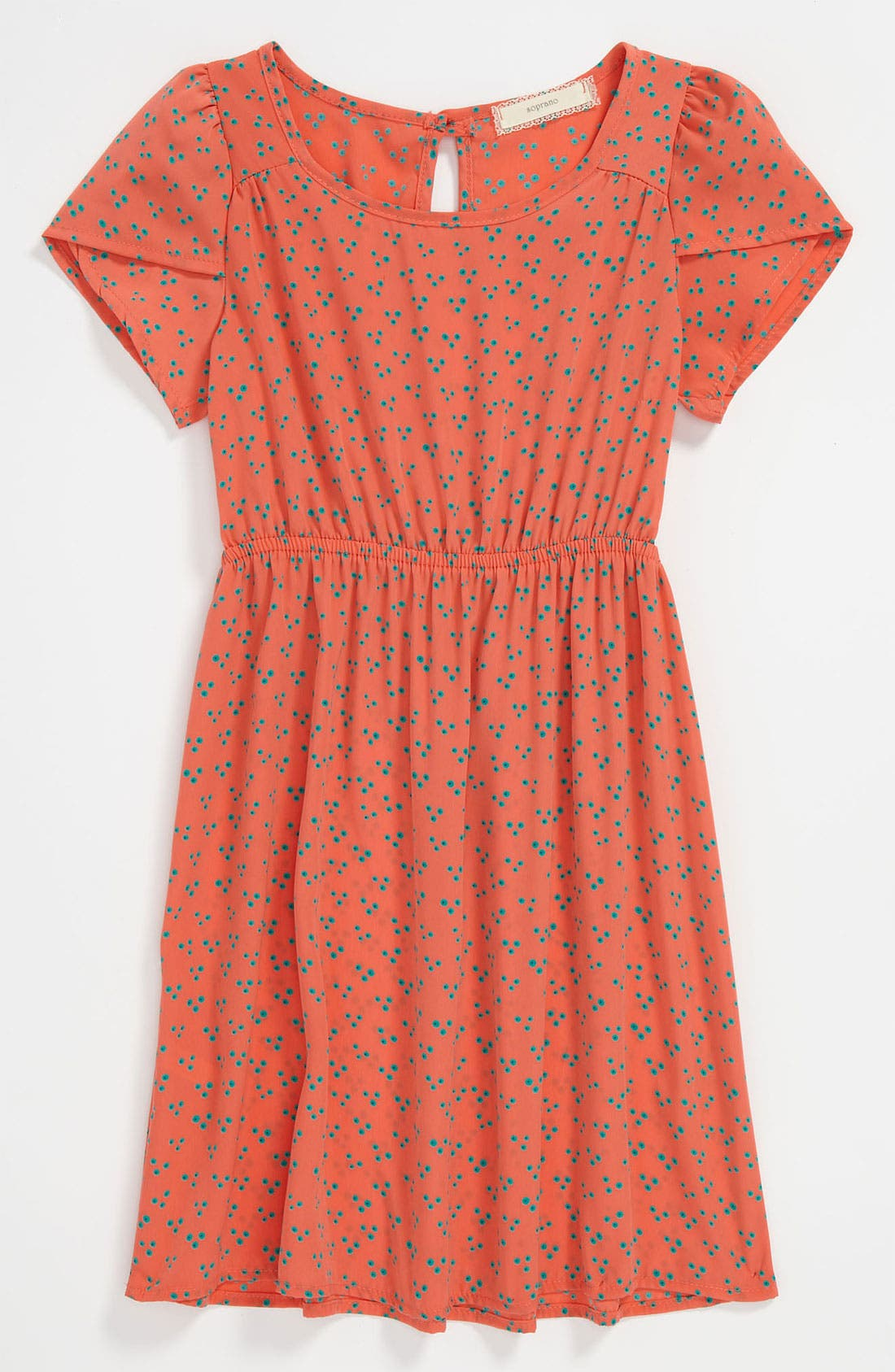 Main Image - Soprano Print Dress (Little Girls & Big Girls)