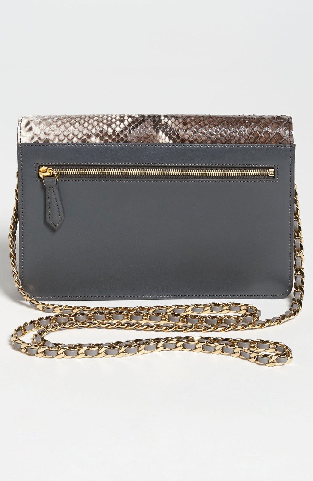 Alternate Image 4  - Fendi 'Mini' Genuine Python Crossbody Bag