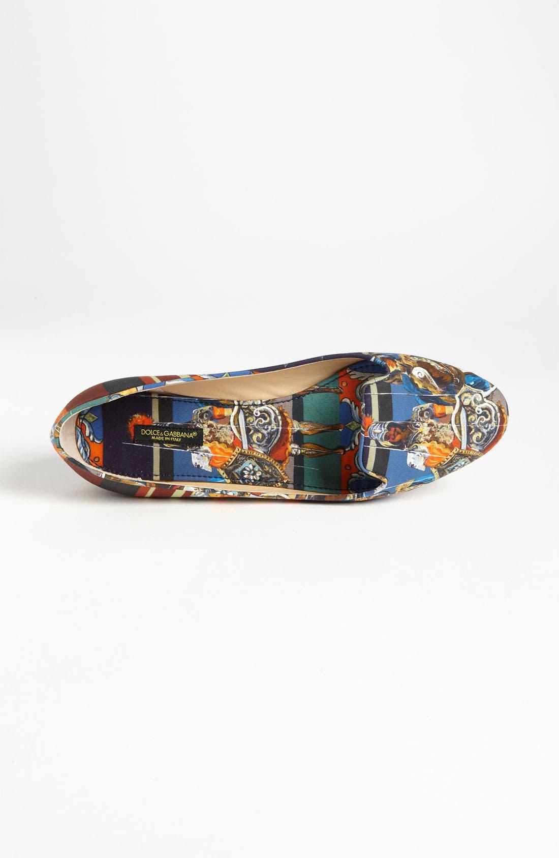 Alternate Image 3  - Dolce&Gabbana Print Flat