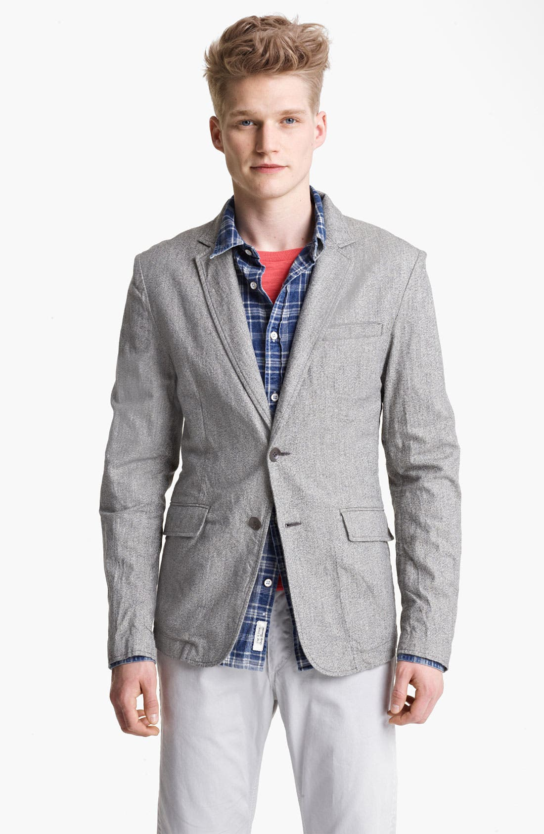 Main Image - rag & bone 'Phillips' Cotton & Linen Sportcoat