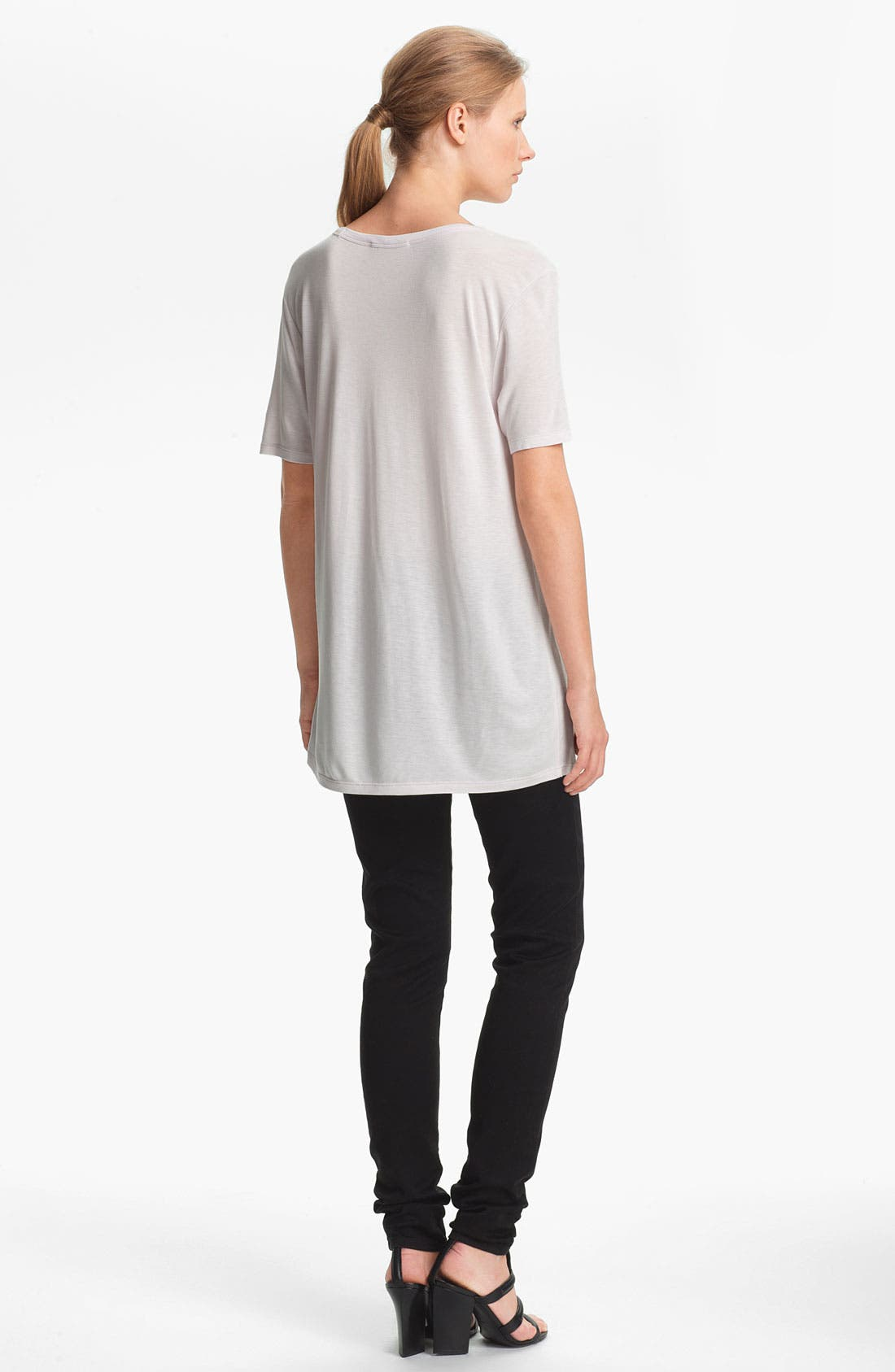 Alternate Image 4  - T by Alexander Wang Classic Pocket Tee