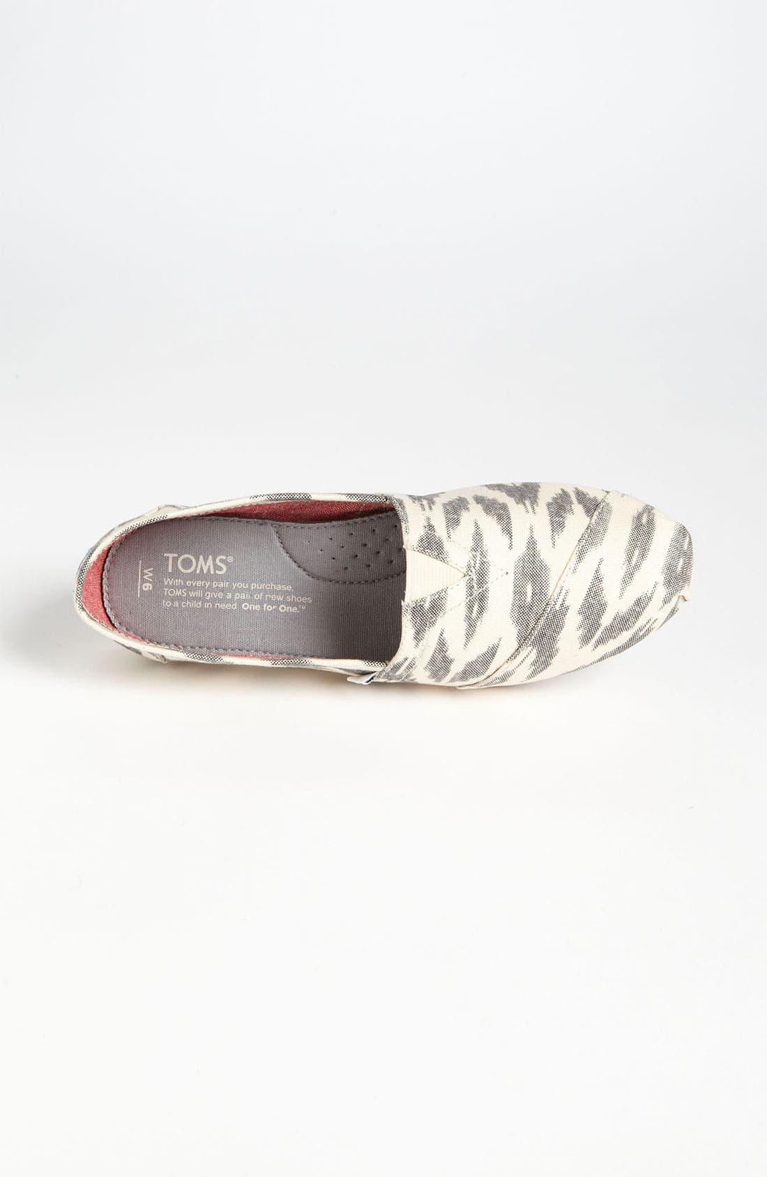 Alternate Image 3  - TOMS 'Classic - Ikat' Slip-On (Women)