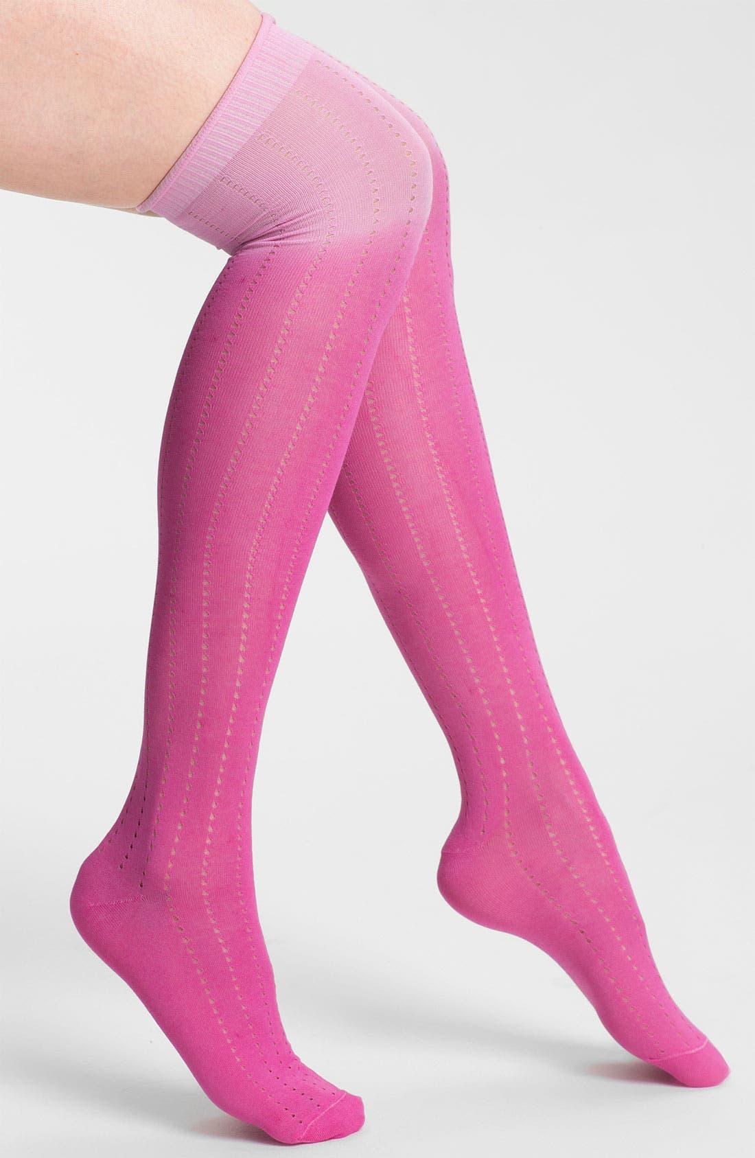 Alternate Image 1 Selected - Nordstrom 'Dip Your Toe In' Over the Knee Socks