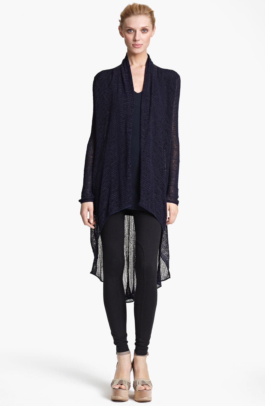 Alternate Image 1 Selected - Donna Karan Collection Lightweight Jersey Cozy