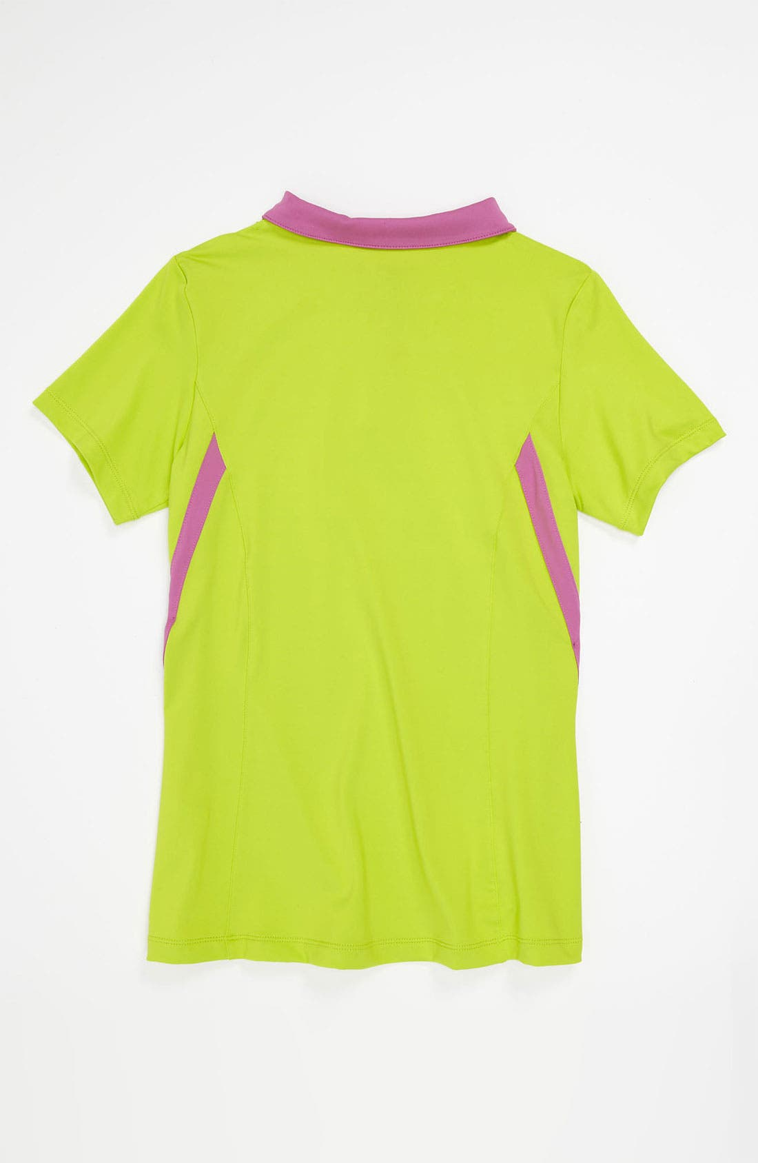 Alternate Image 2  - Nike 'Border' Tennis Polo (Big Girls)