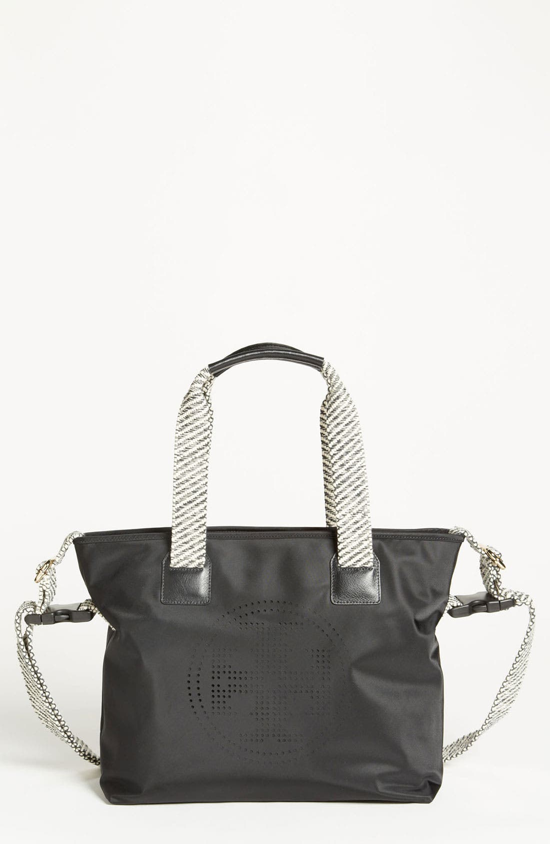 Alternate Image 1 Selected - Tory Burch Perforated Diaper Bag
