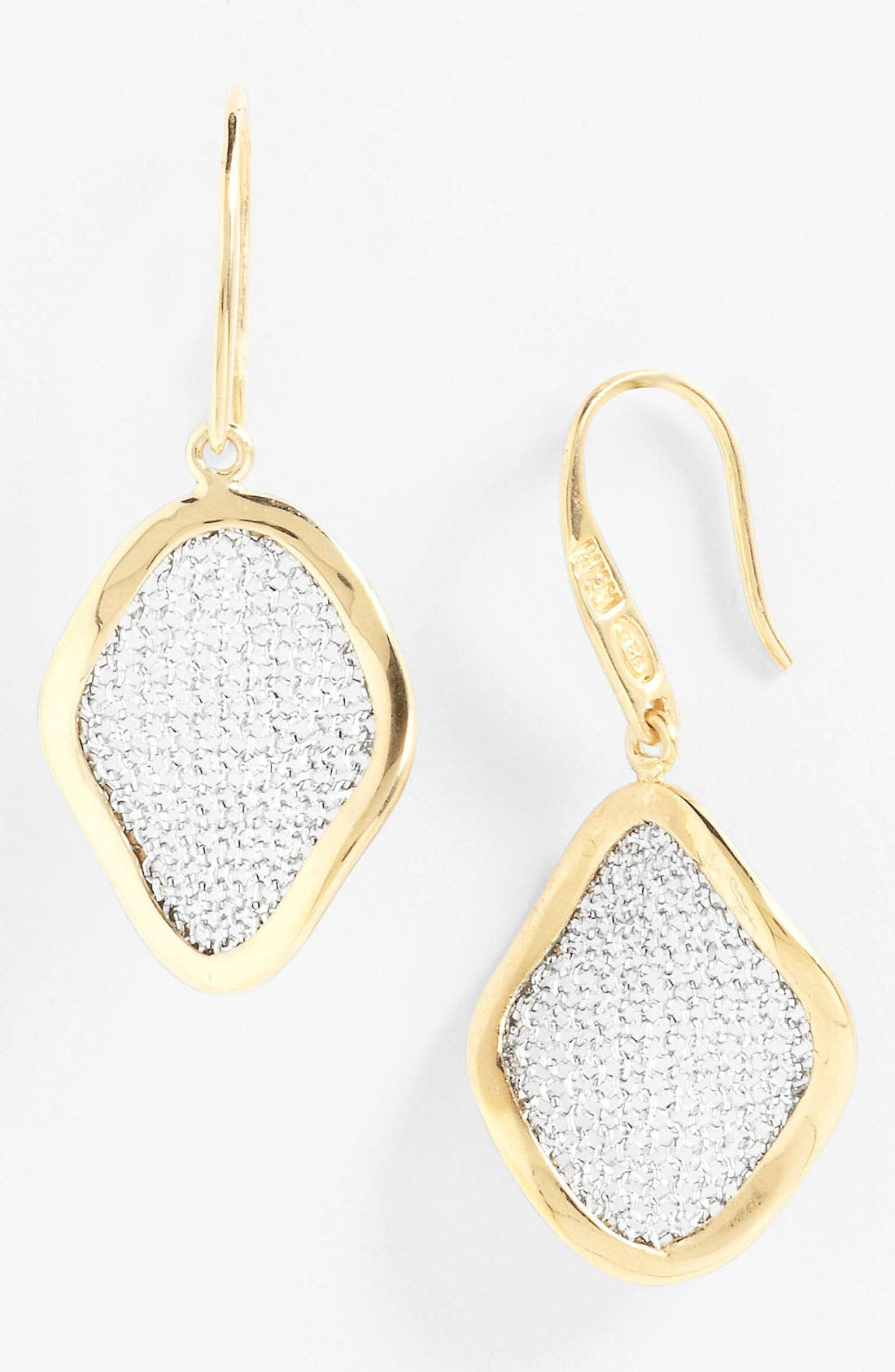 Alternate Image 1 Selected - Adami & Martucci 'Mesh' Small Drop Earrings
