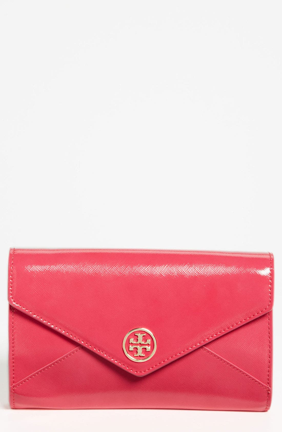 Main Image - Tory Burch 'Robinson - Small' Envelope Clutch
