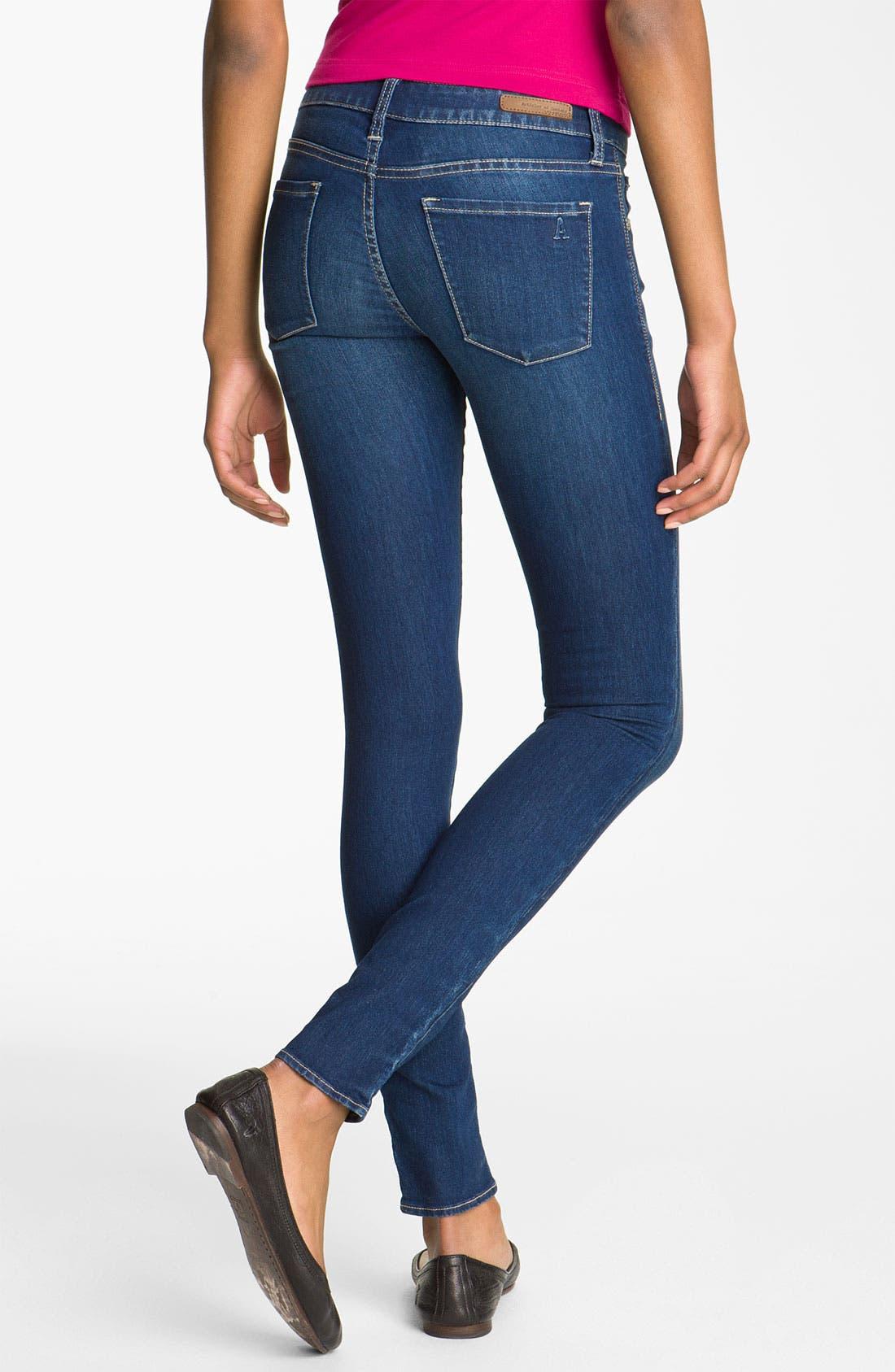 Main Image - Articles of Society 'Mya' Skinny Jeans (Juniors)