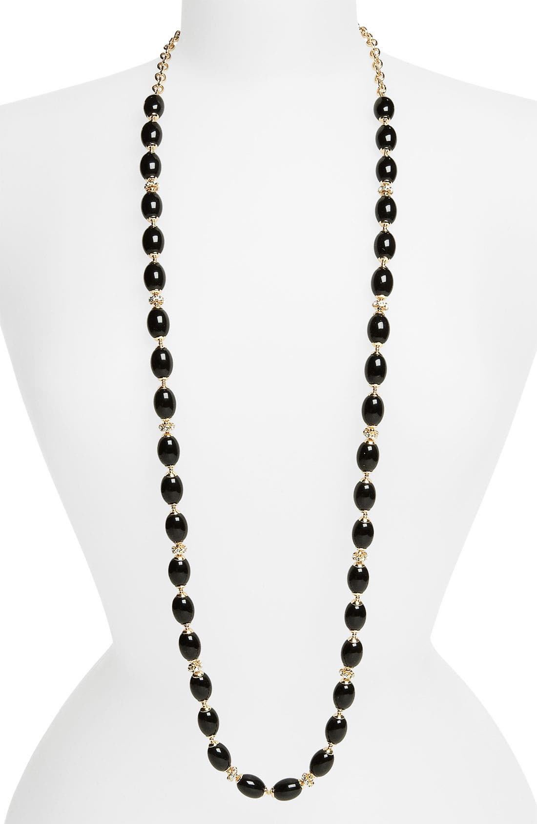 Alternate Image 1 Selected - Anne Klein 'Alder' Extra Long Bead Necklace