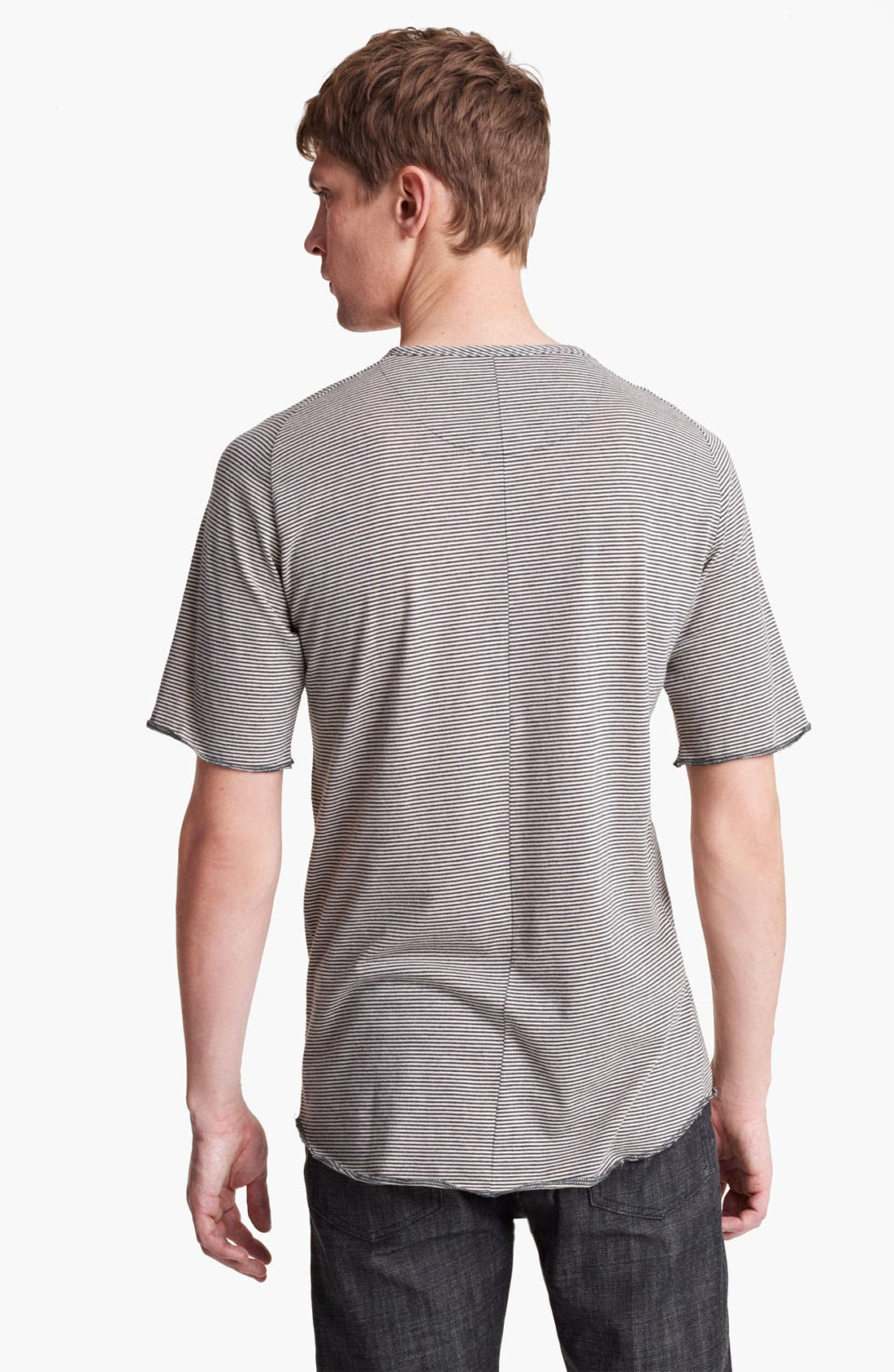 Alternate Image 2  - Field Scout Stripe Raglan Henley T-Shirt