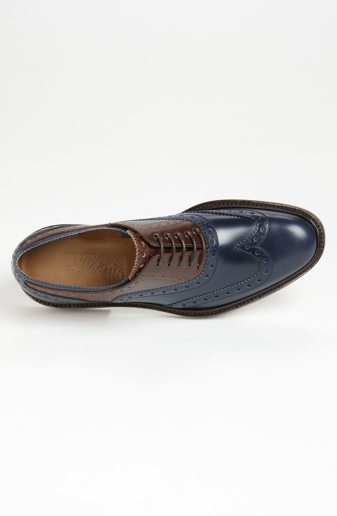 Alternate Image 3  - Salvatore Ferragamo 'Tango' Spectator Shoe