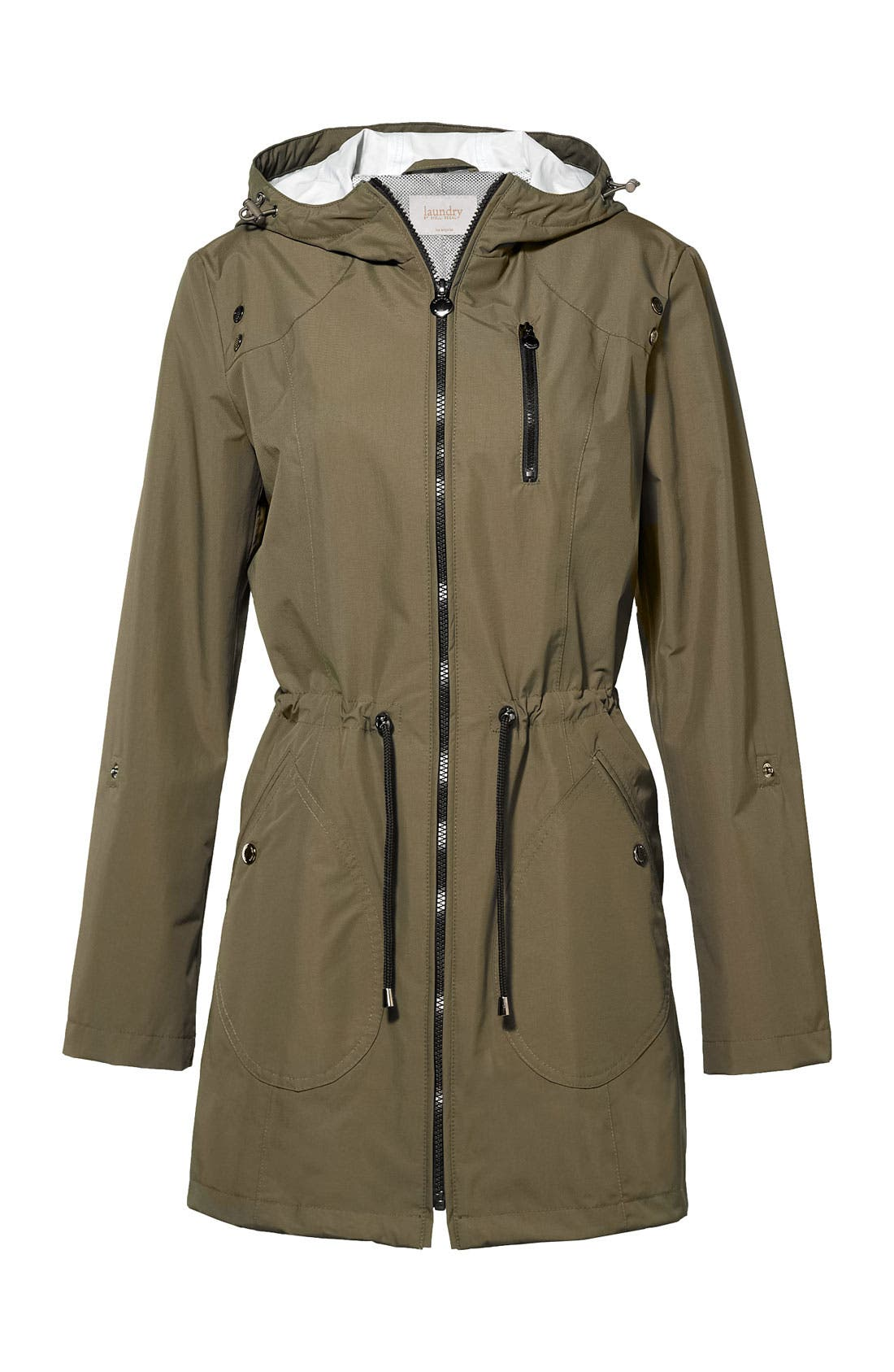 Alternate Image 4  - Laundry by Shelli Segal Packable Water Repellent Anorak