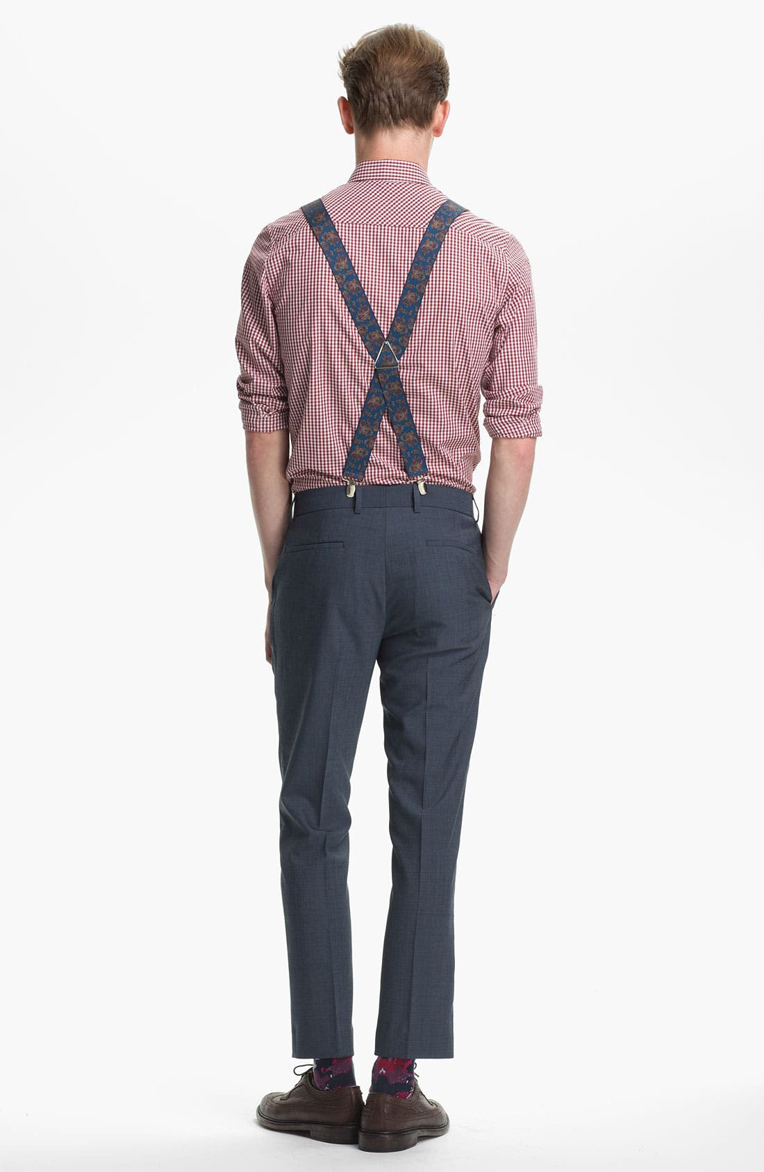 Alternate Image 5  - Topman Skinny Fit Trousers