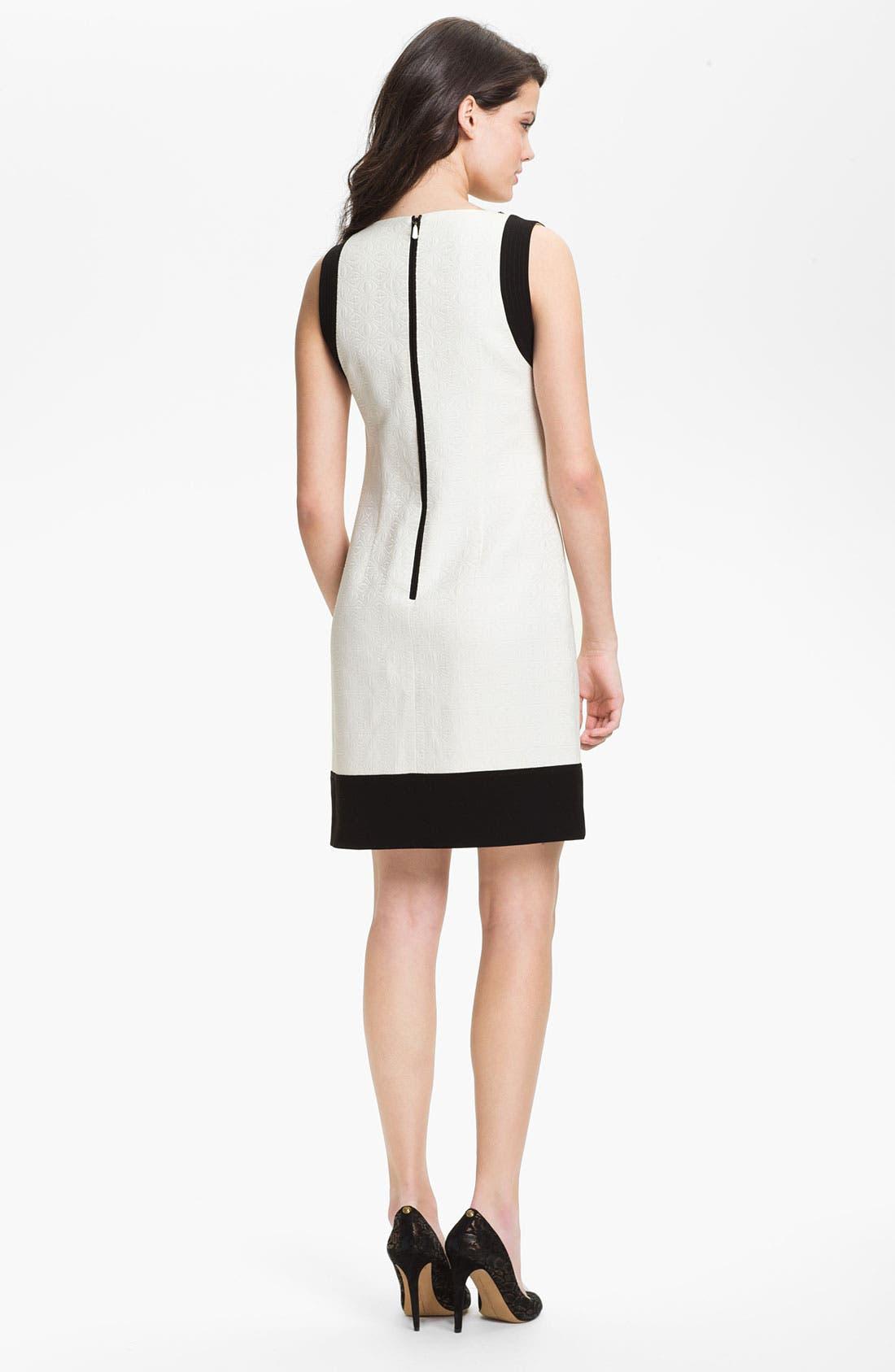 Alternate Image 2  - Laundry by Shelli Segal Embellished Shift Dress
