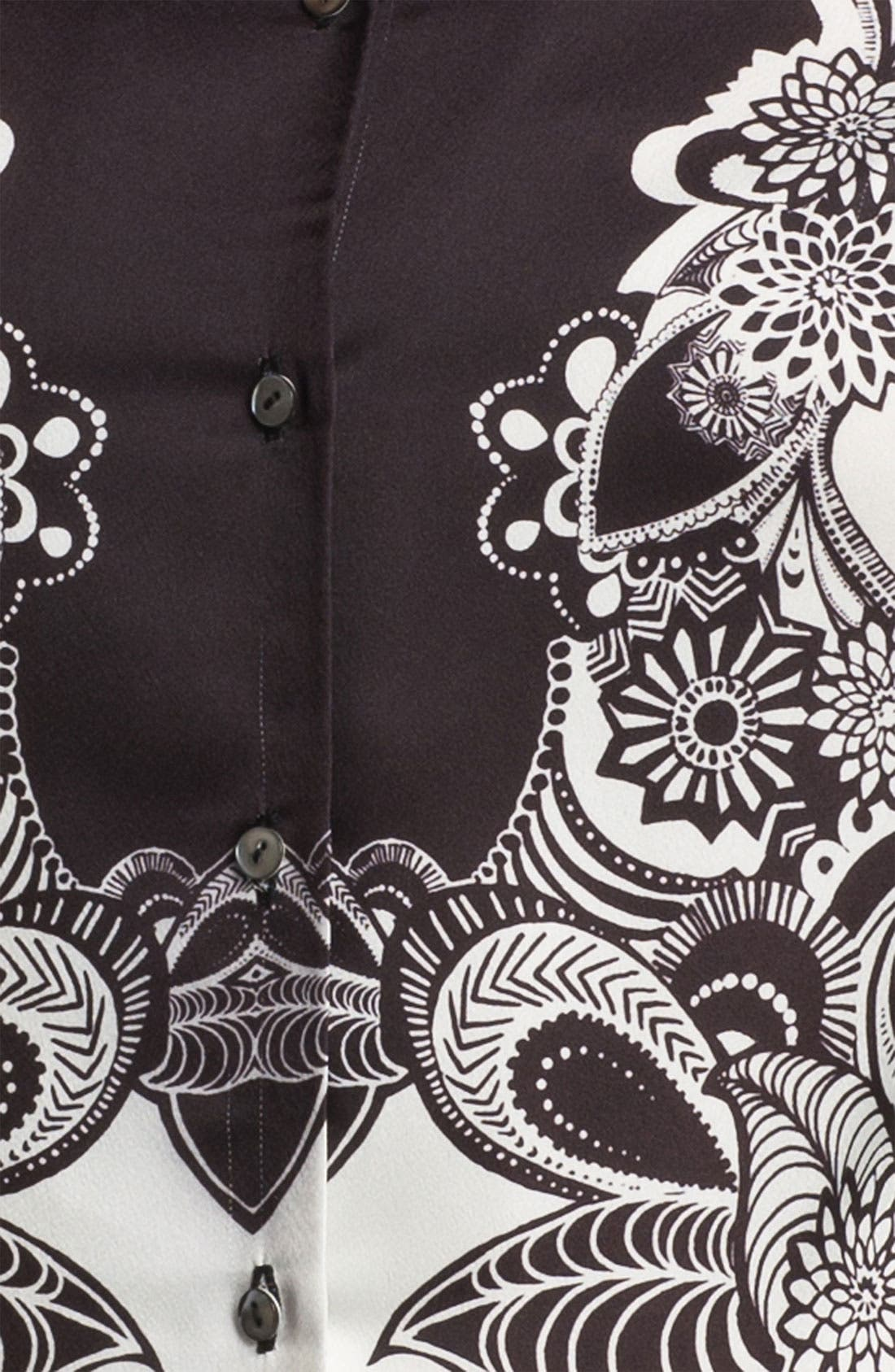 Alternate Image 3  - Adrianna Papell 'Engineered Print' Shirt