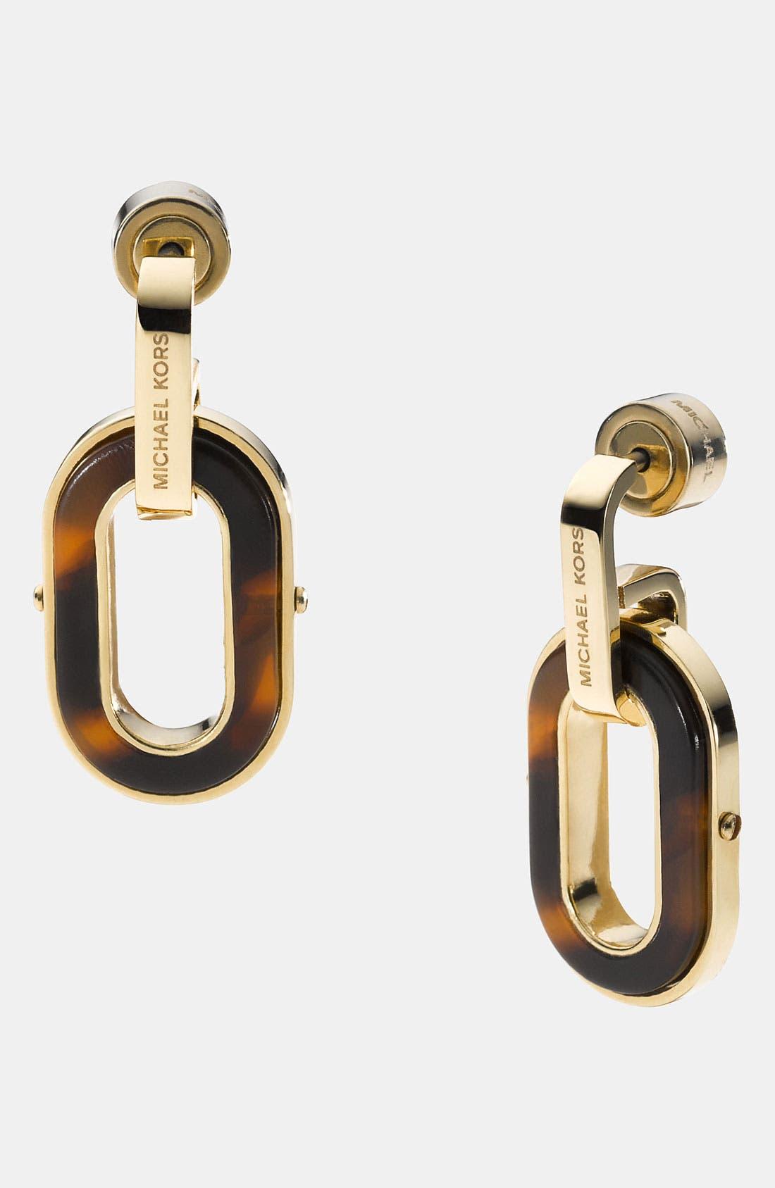 Main Image - Michael Kors 'Jet Set' Drop Earrings