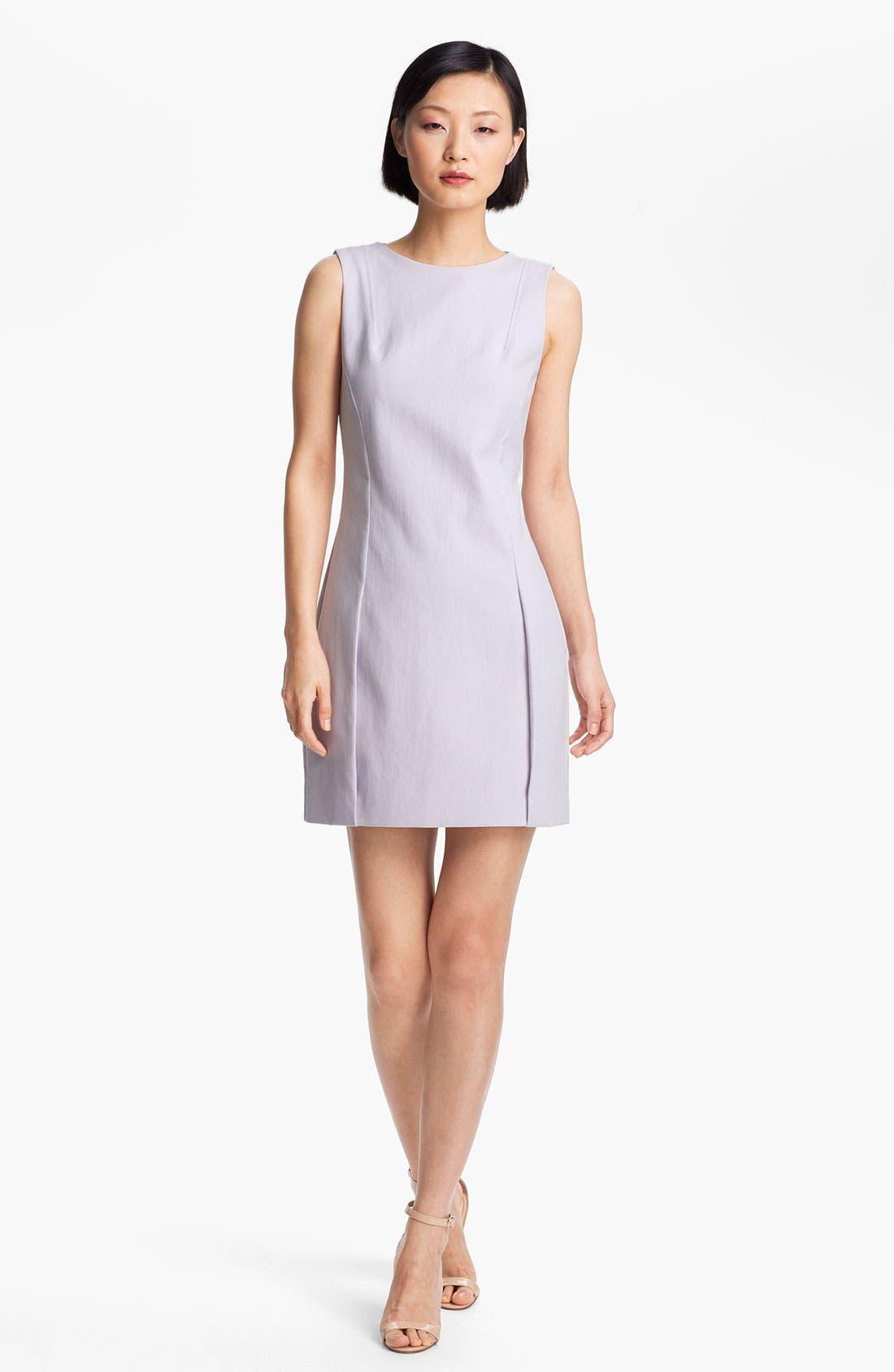 Main Image - Halston Heritage Double Piqué Sheath Dress