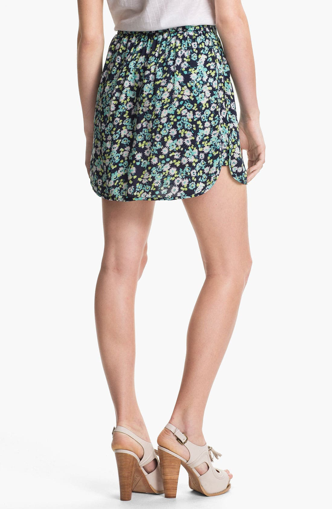 Alternate Image 3  - Two by Vince Camuto Print Miniskirt