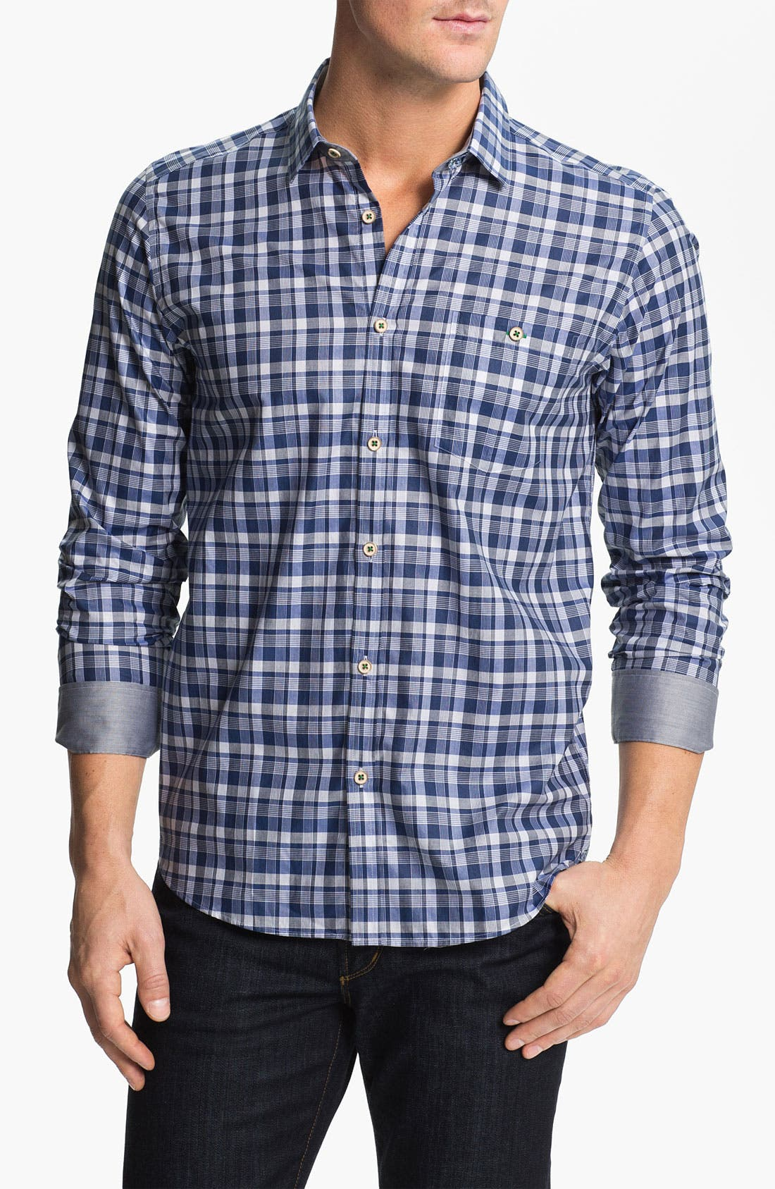 Main Image - Ted Baker London 'Statad' Sport Shirt