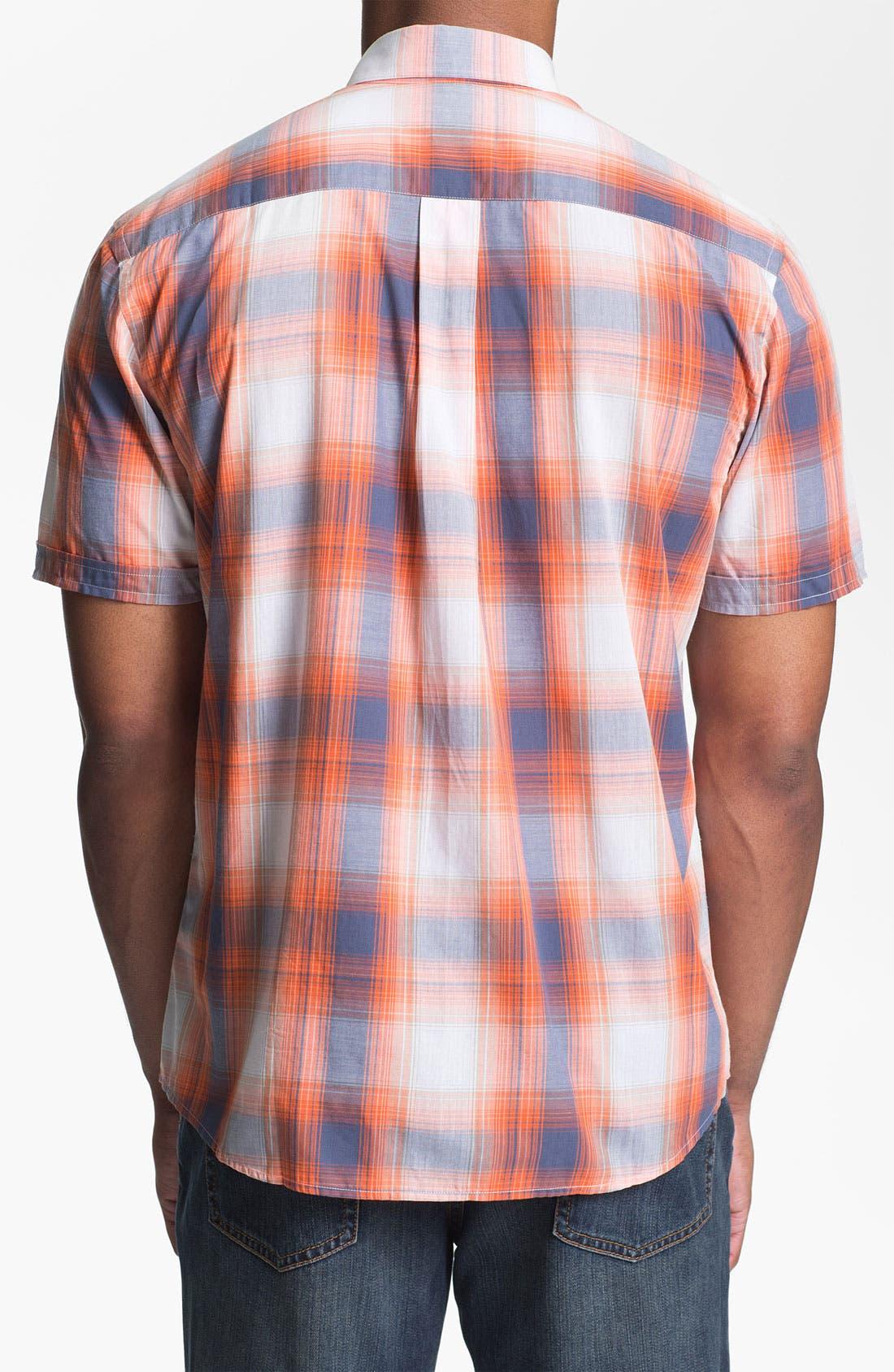 Alternate Image 2  - Cutter & Buck 'Matthews' Plaid Sport Shirt