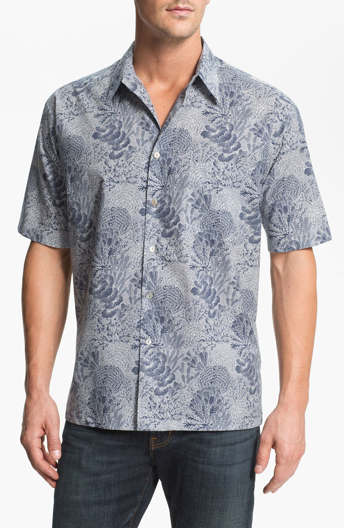 Main Image - Tori Richard 'Good Reef!' Regular Fit Sport Shirt