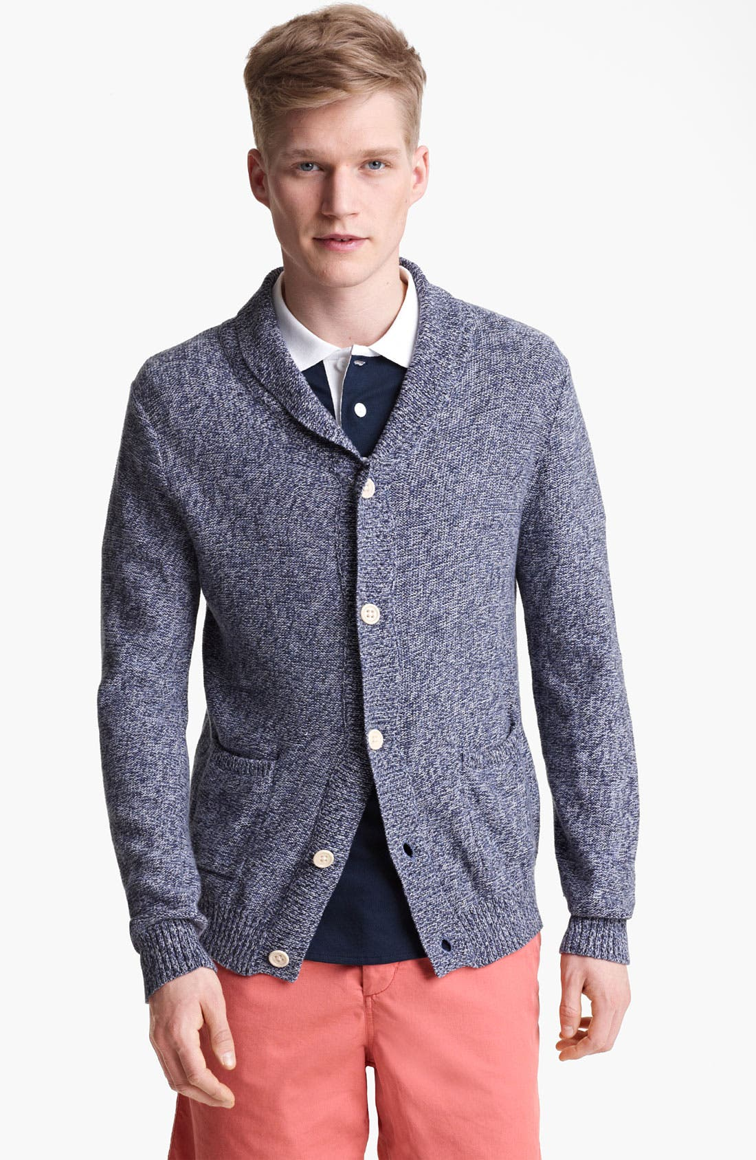 Alternate Image 1 Selected - Shipley & Halmos 'Ross' Shawl Collar Cardigan