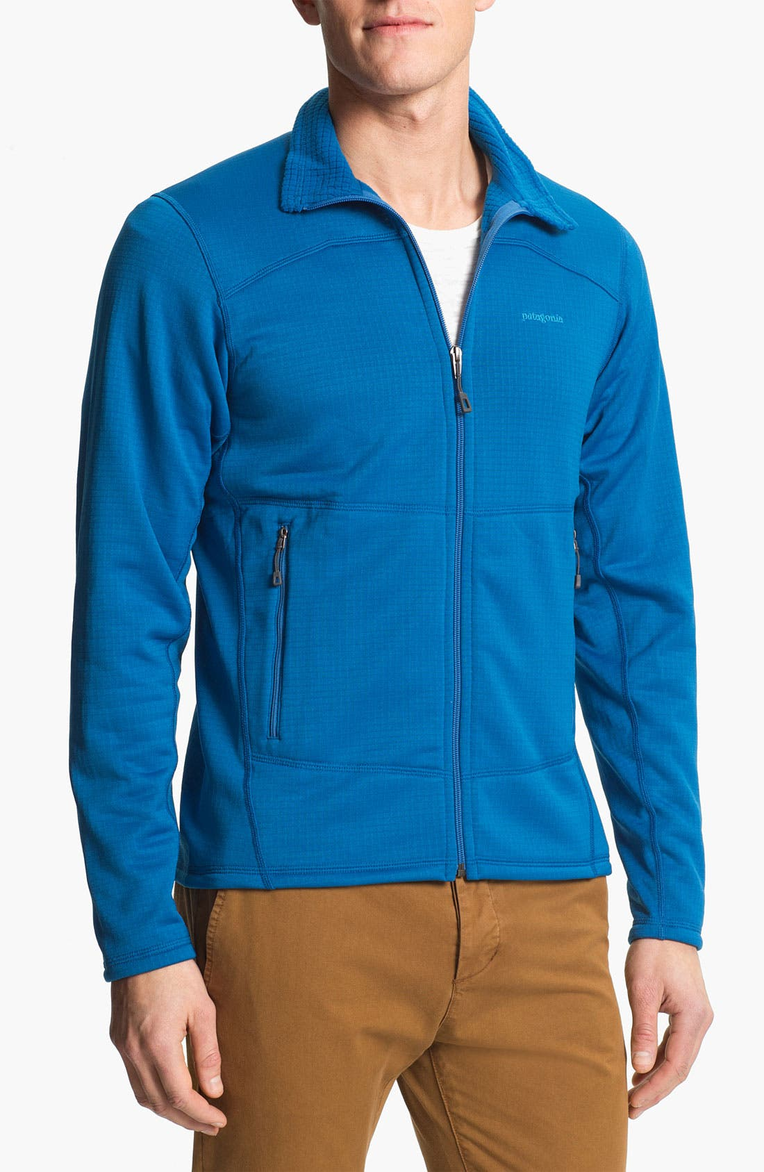 Alternate Image 1 Selected - Patagonia 'MSR1' Zip Fleece Jacket