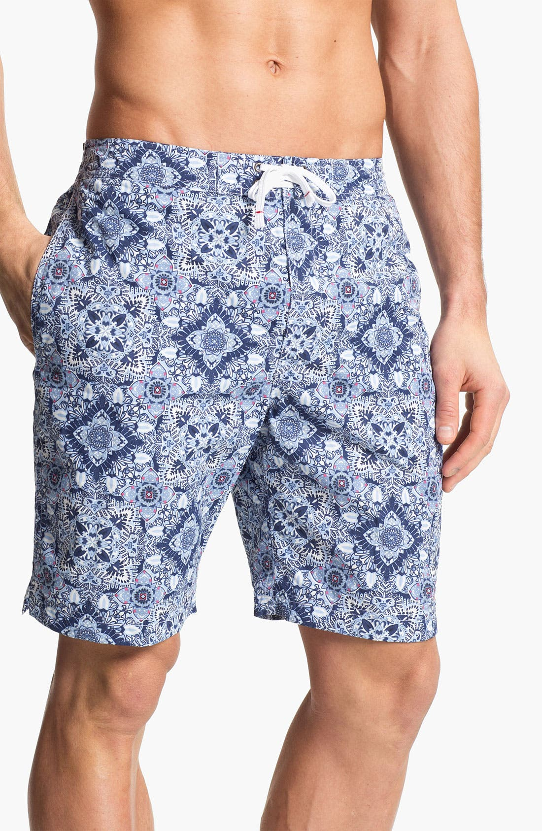 Main Image - Maker & Company 'Full Monte' Swim Shorts (Online Only)